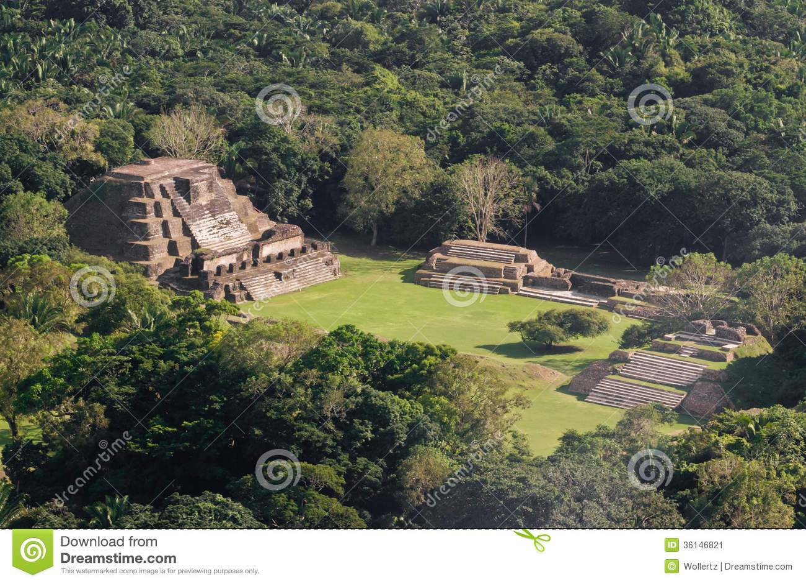 Altun Ha, ruines de Maya