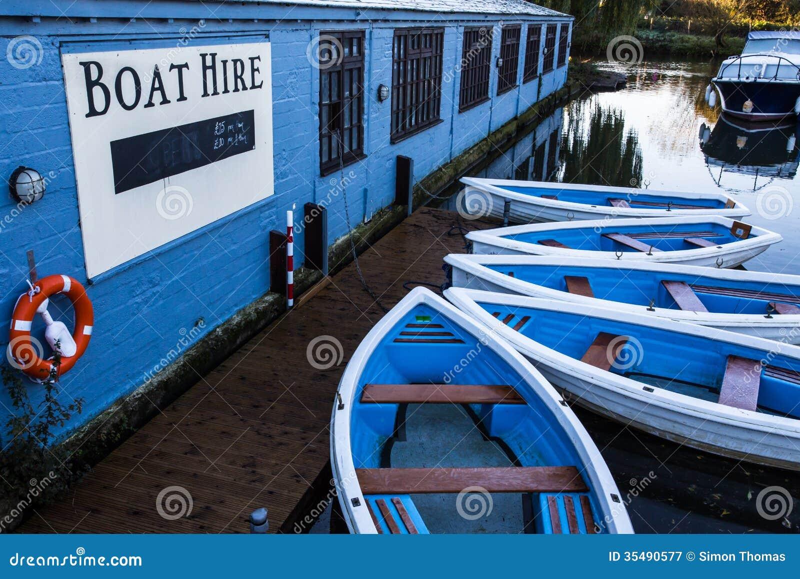 Aluguer do barco