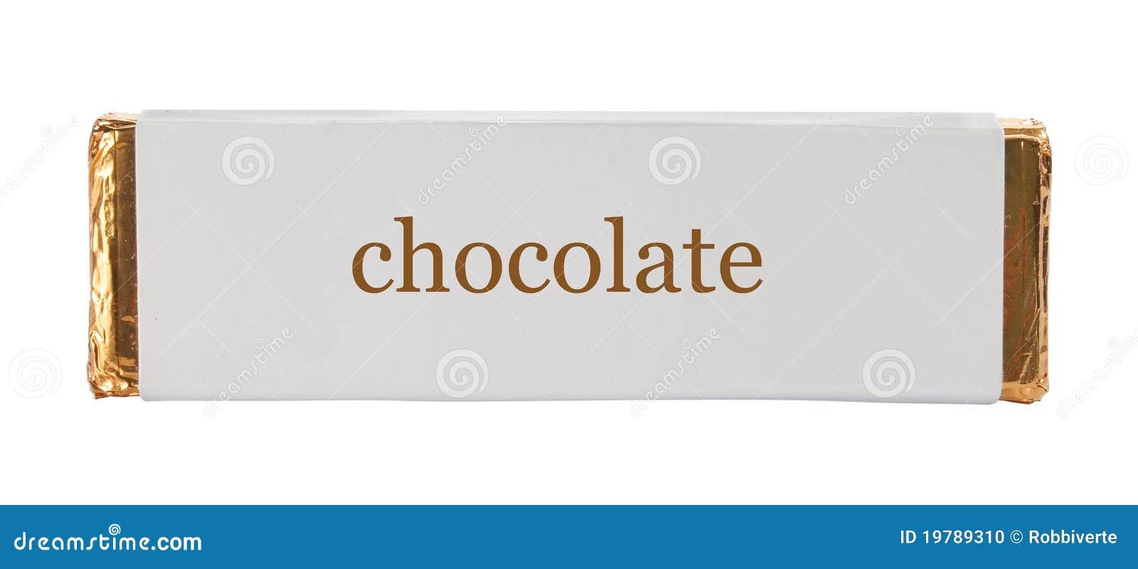 Aluminiowy czekolady folii papieru opakowanie
