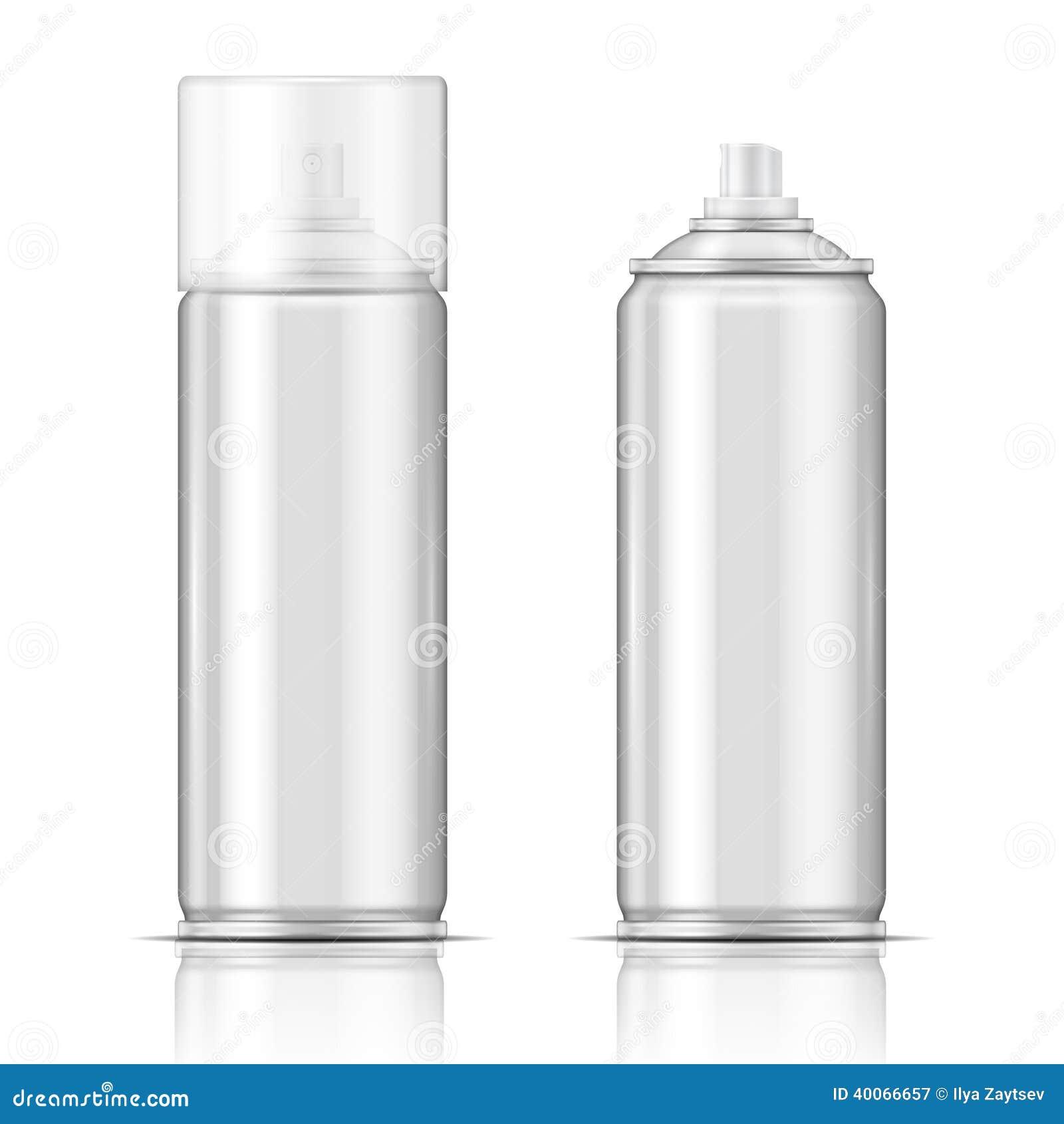 Aluminium Spray Can Stock Vector Image 40066657