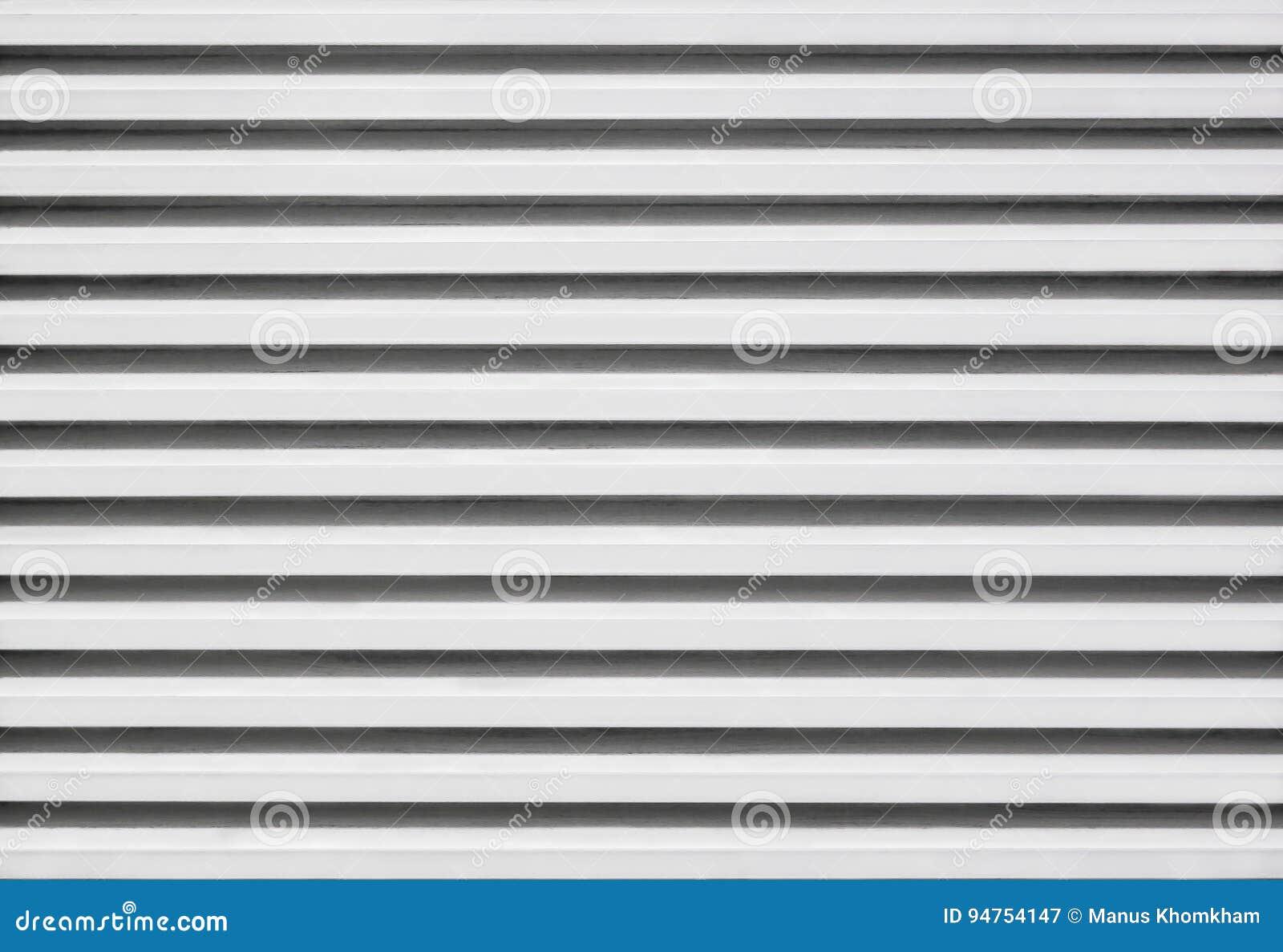 Aluminium zinc louver pattern