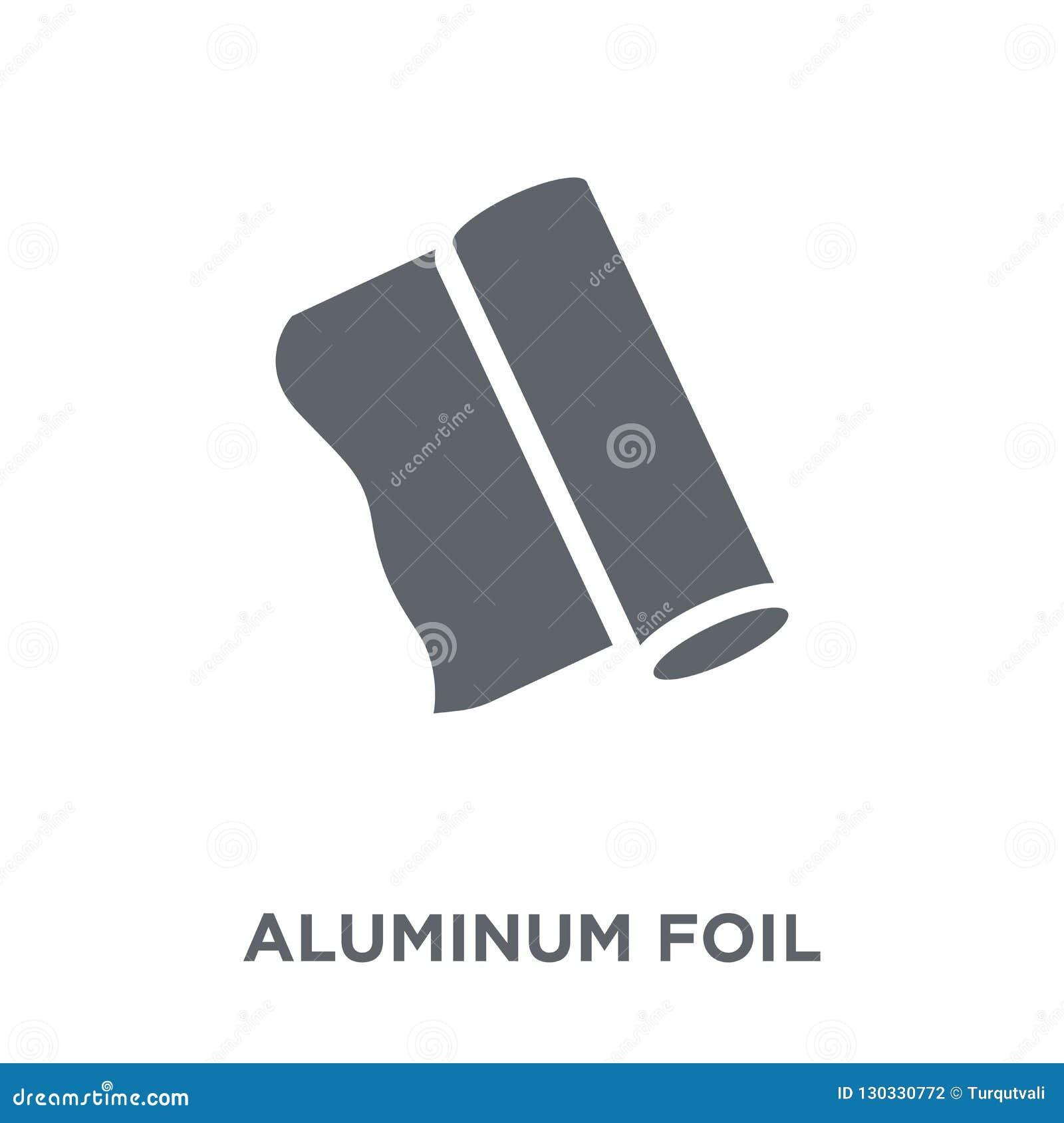 Aluminiumfoliepictogram van Keukeninzameling
