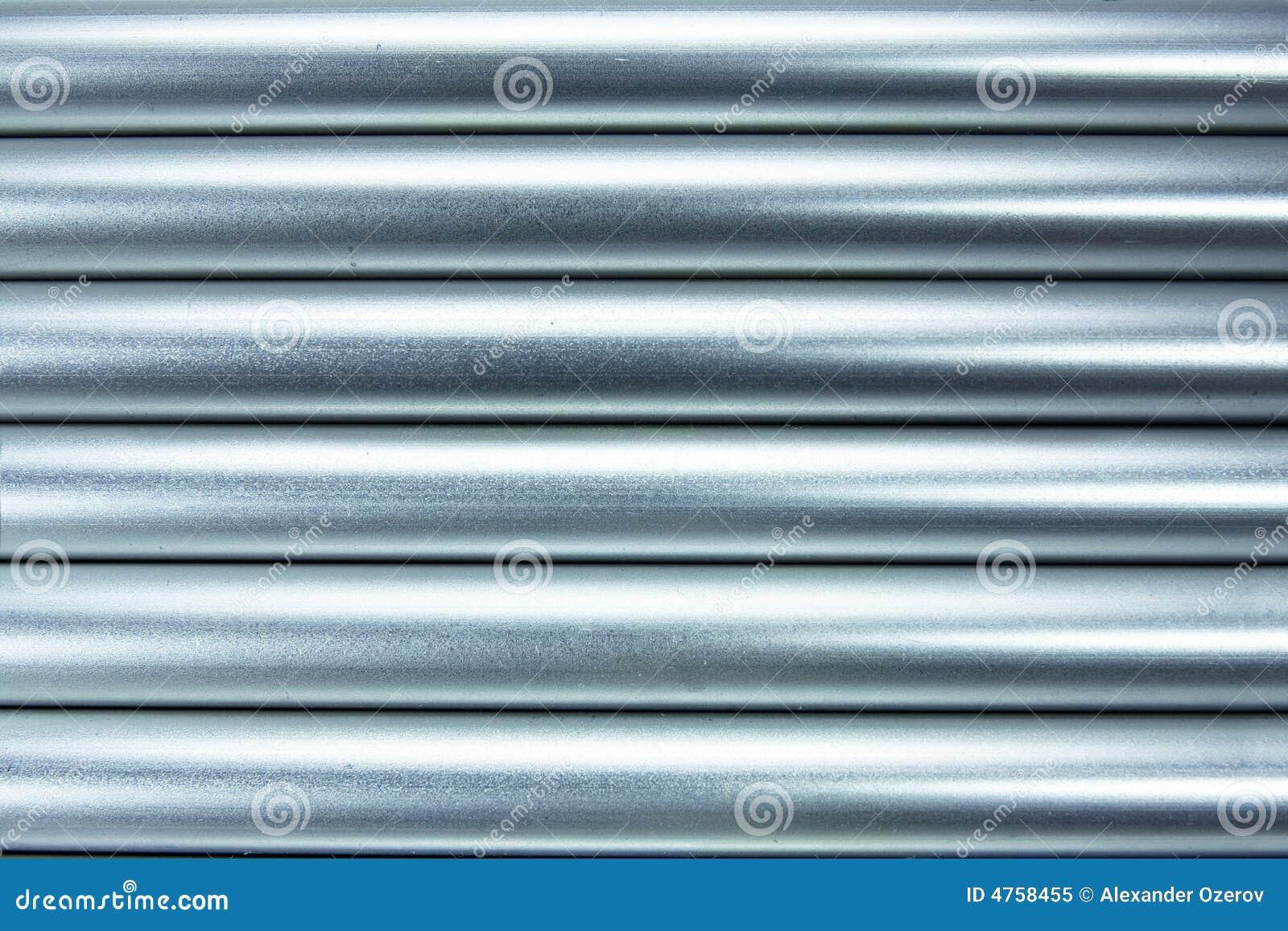 Aluminiumgefäßhintergrund