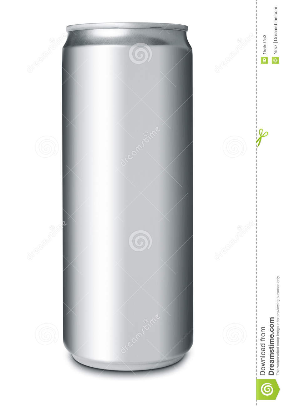Aluminum Beverage Can Stock Image. Image Of Silver, Cold