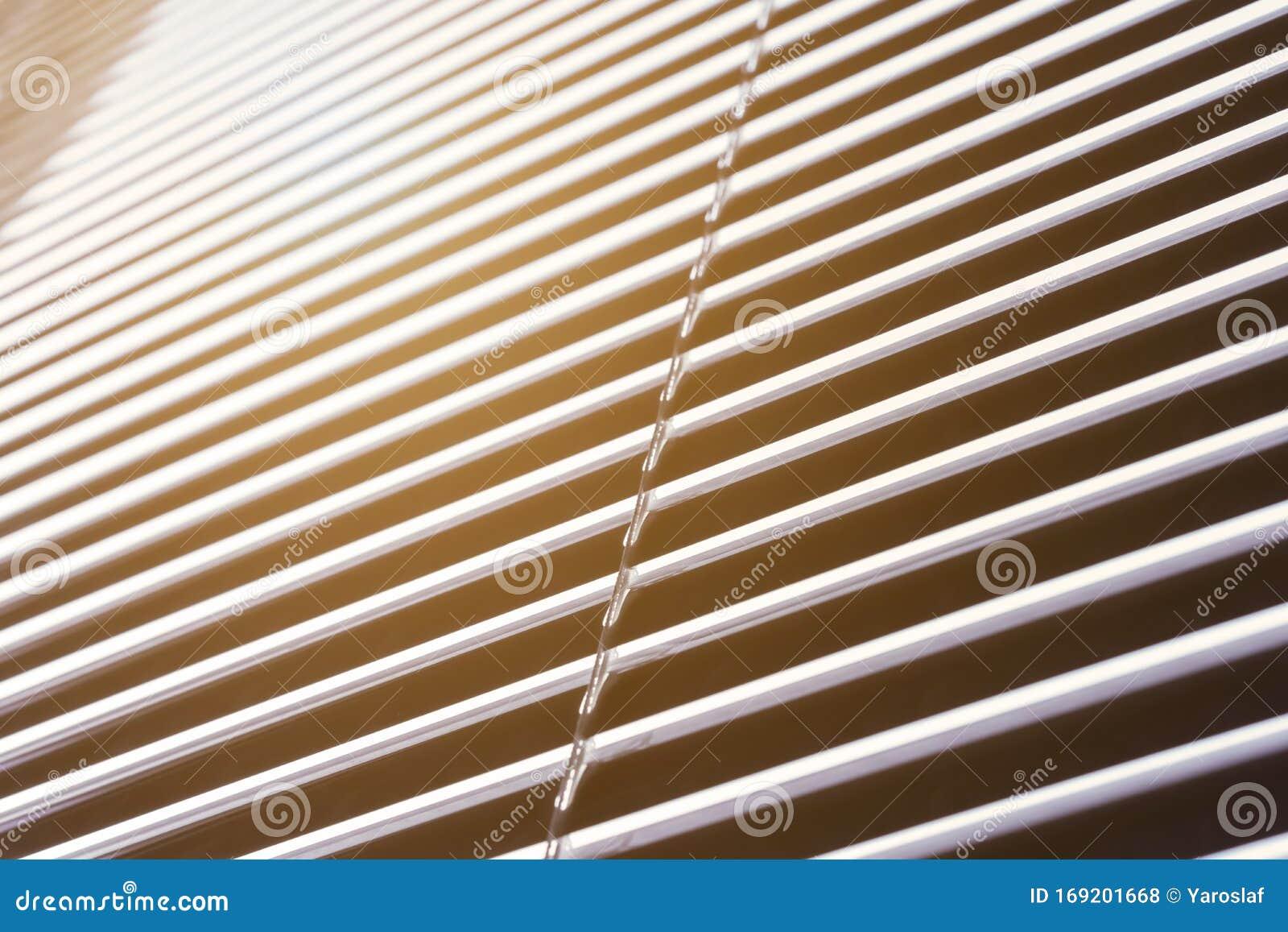 Aluminum Blinds On Window Background Stock Photo Image Of Background Office 169201668