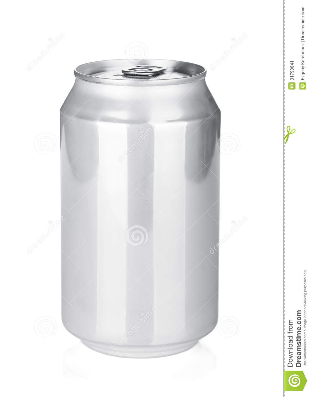 Where Can I Use It: Aluminum Can Stock Image