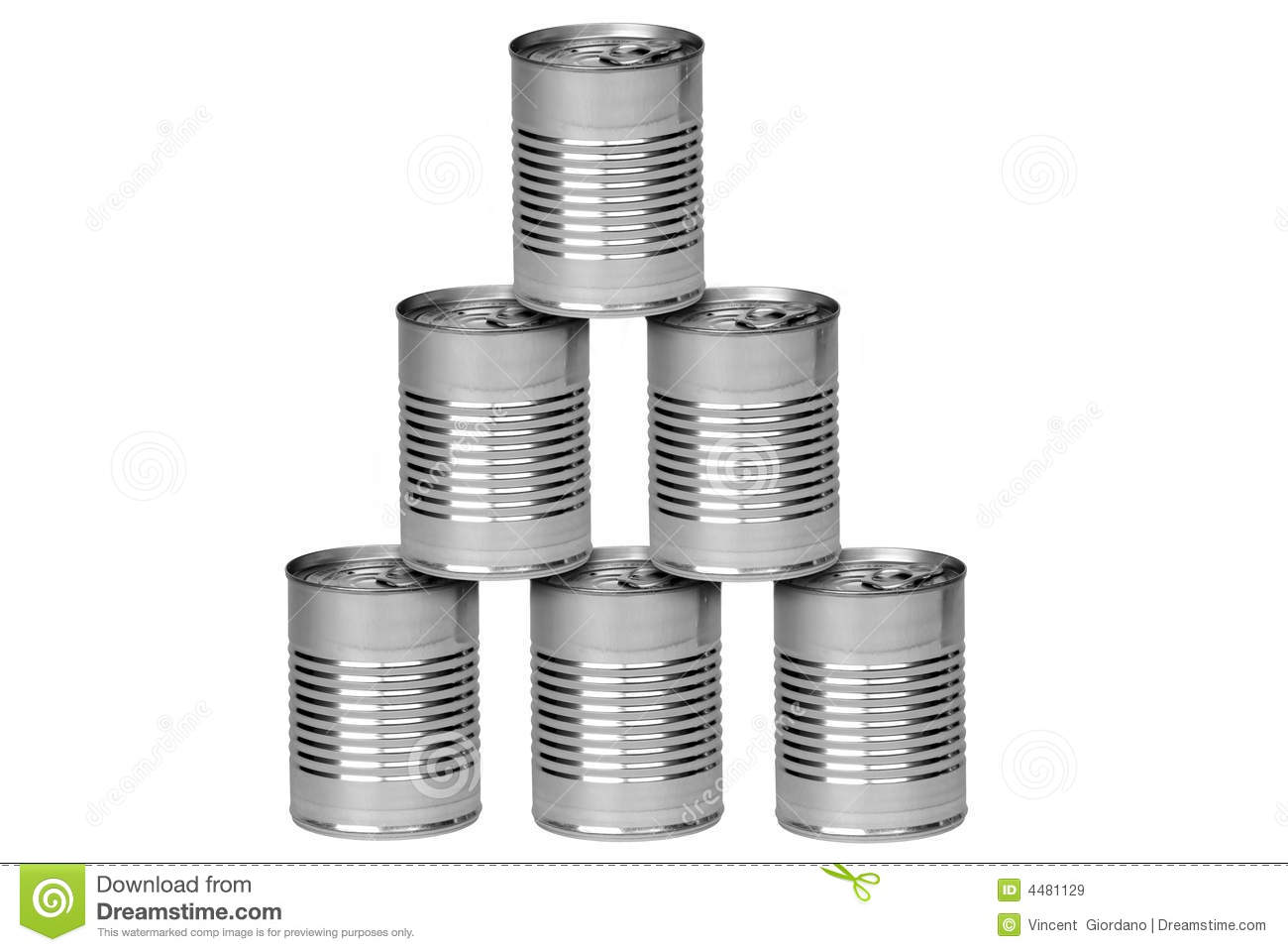 Aluminum Cans Royalty Free Stock Images - Image: 4481129 Canned Food
