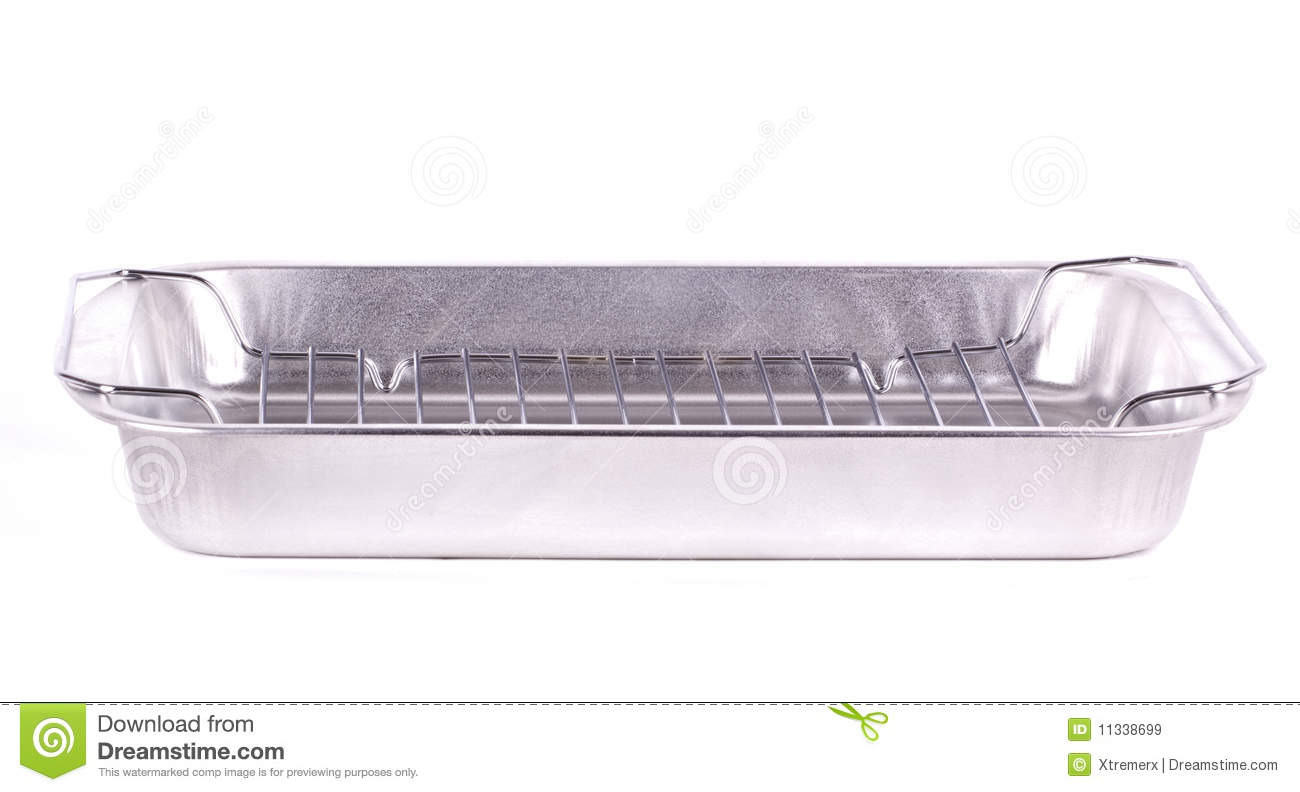Aluminum cooking tray stock image image of lasagna for Cuisine aluminium