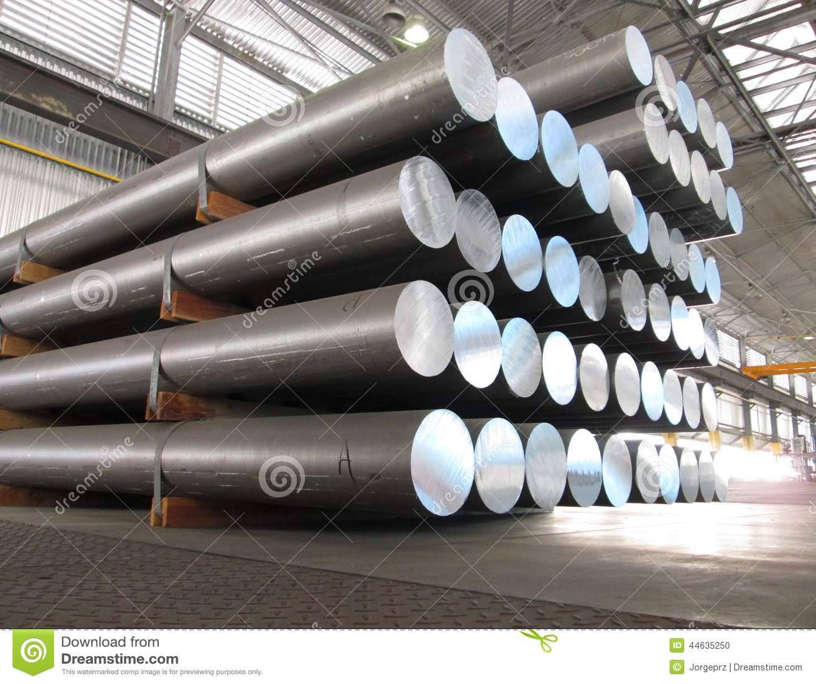 Aluminum cylindrar