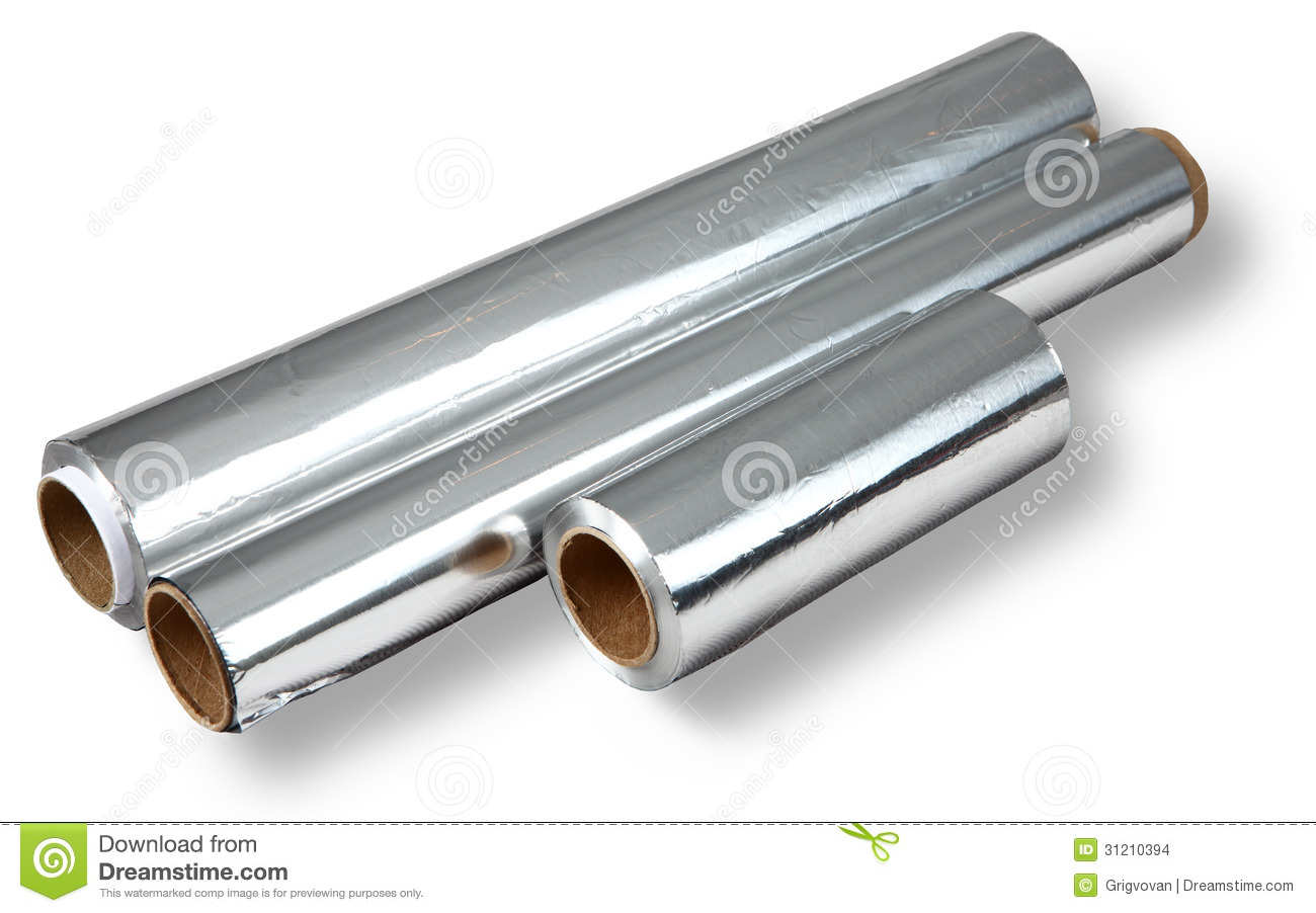 Aluminum foil for cooking and storing food four rolls for Cuisine aluminium