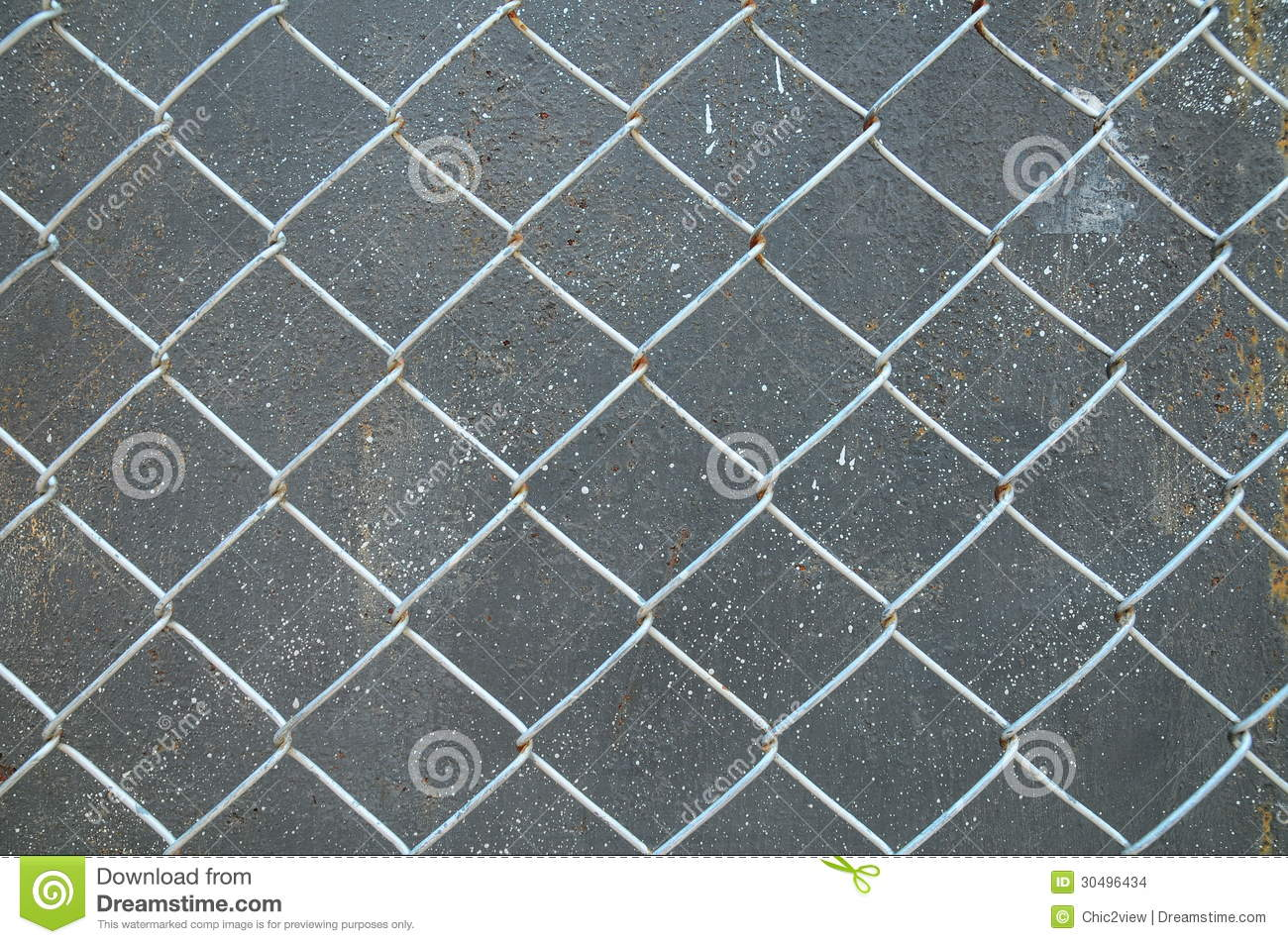 Rust Cement Wall : Aluminum grille with rust concrete wall texture stock