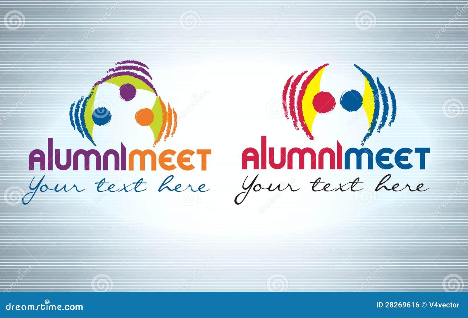 Alumni Logo Design Vector Free Download
