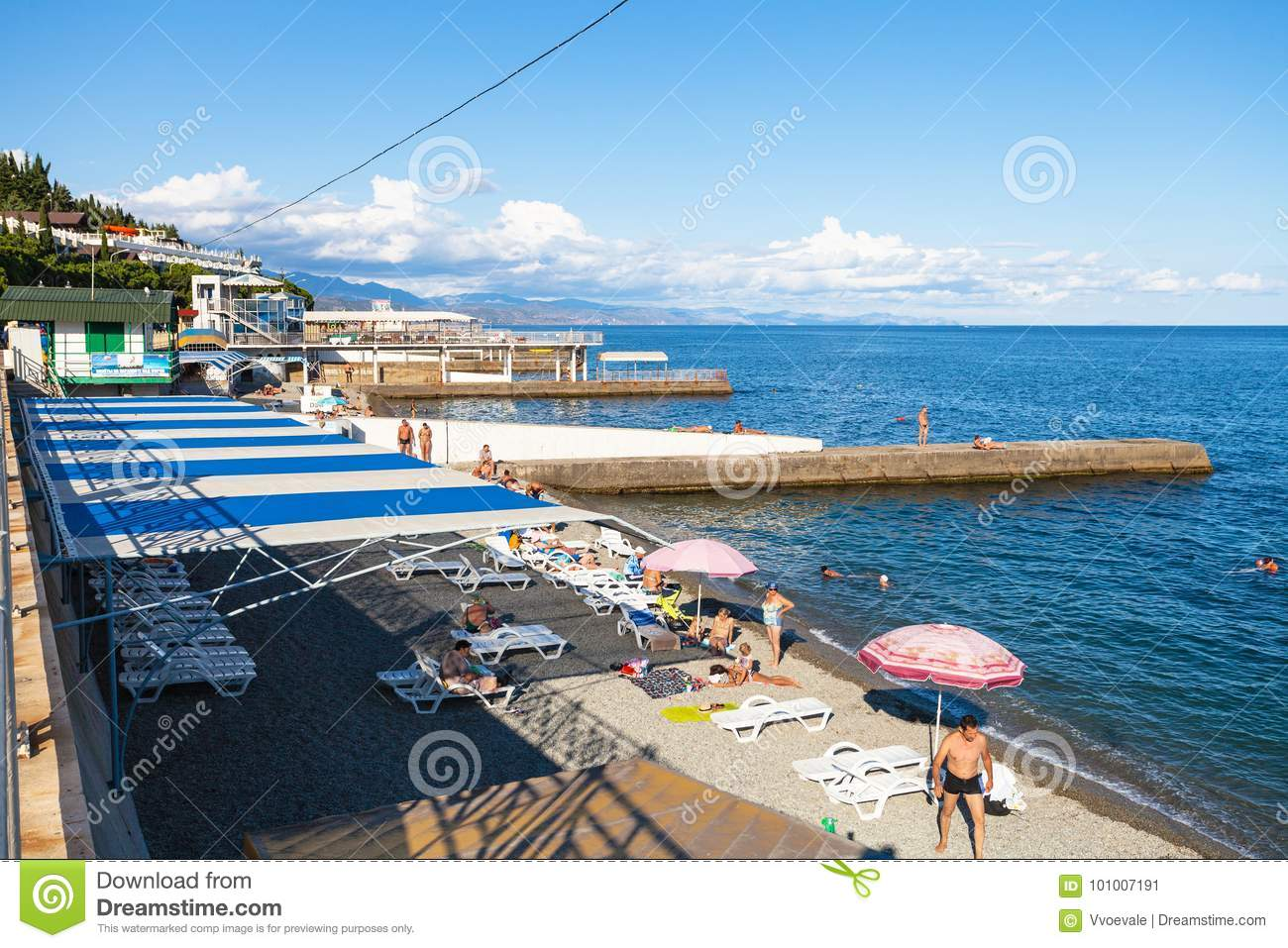 Southern coast of Crimea, Alushta. Beaches, vacation by the sea. Guest reviews. Alushta: Hotels with a private beach 79