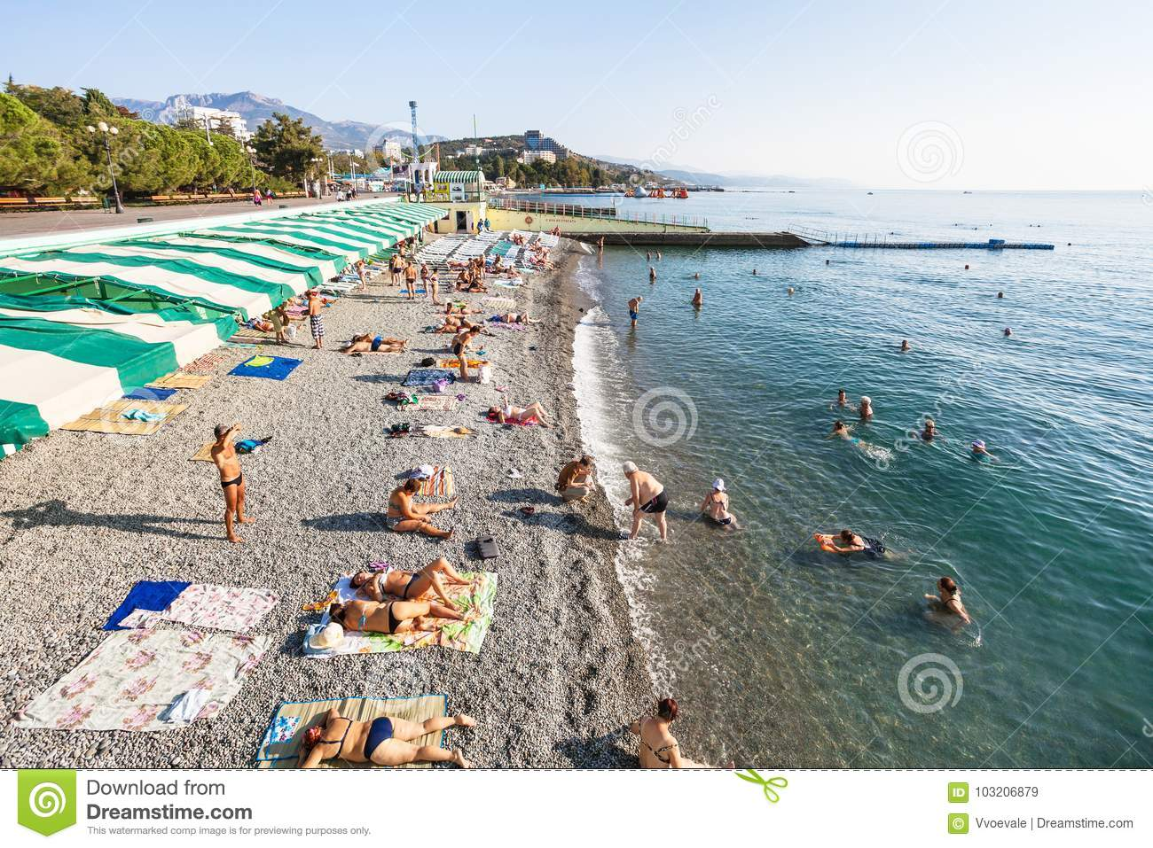Southern coast of Crimea, Alushta. Beaches, vacation by the sea. Guest reviews. Alushta: Hotels with a private beach 14