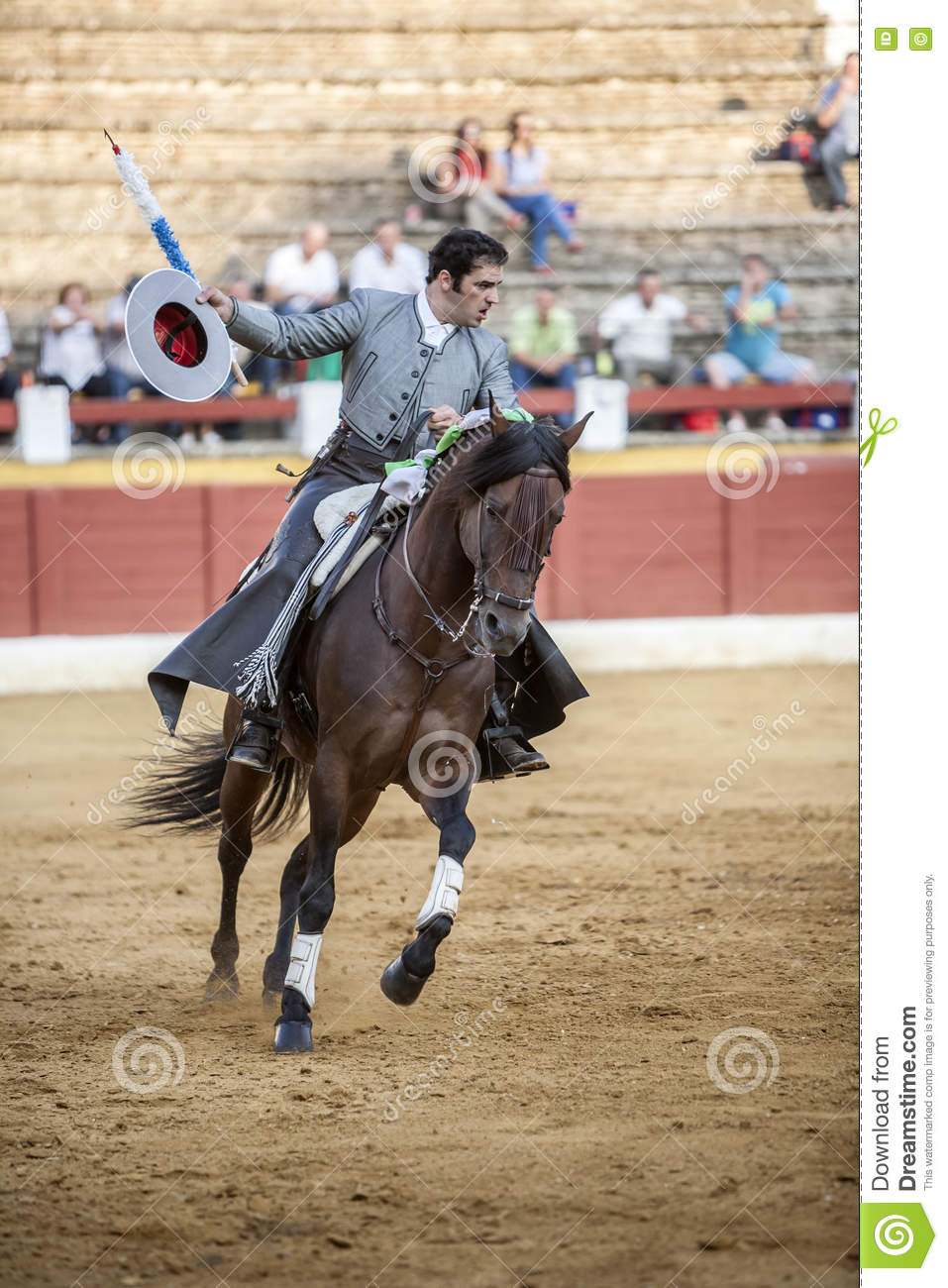 Alvaro Montes, bullfighter on horseback spanish, Ubeda, Spain