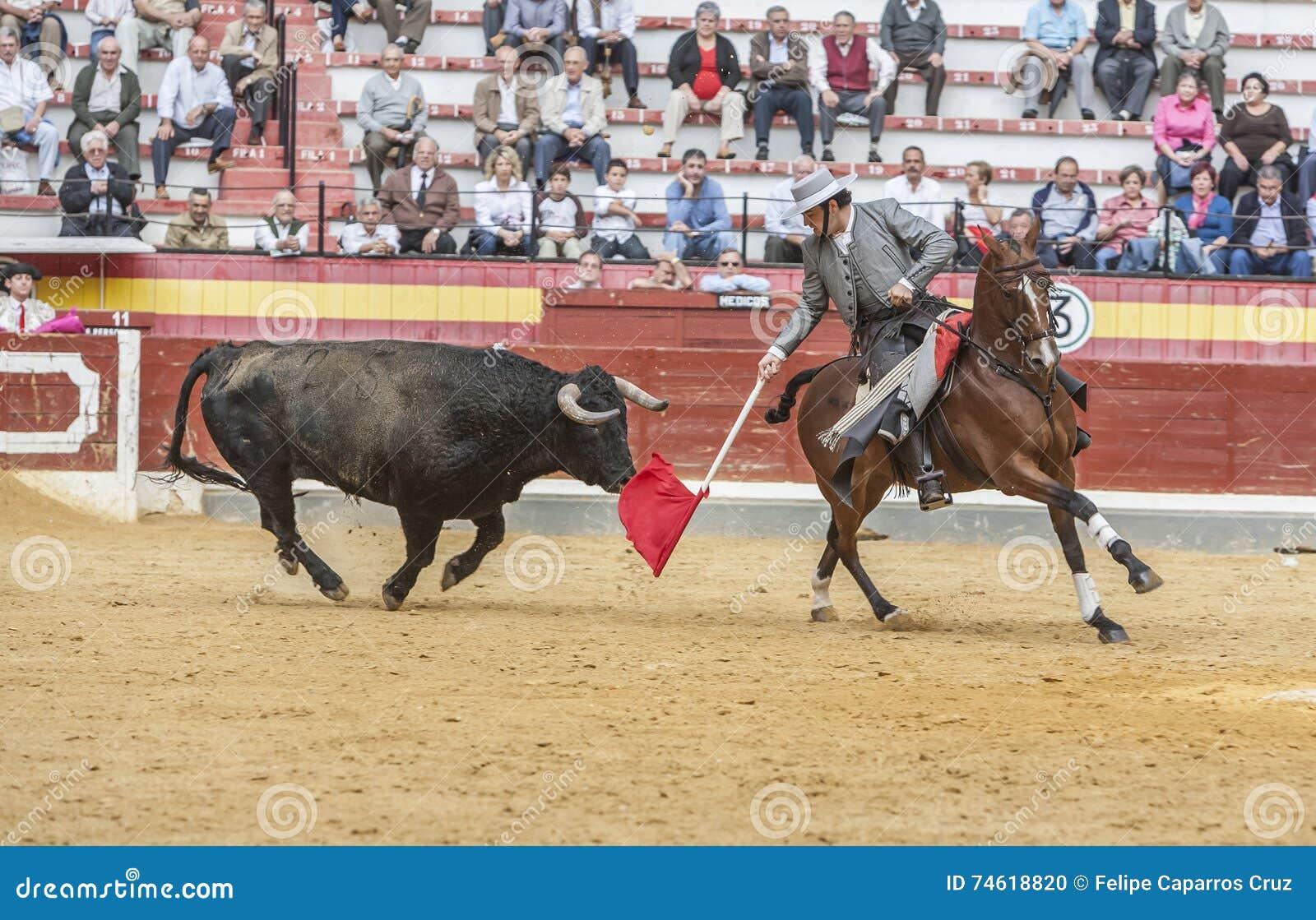 Alvaro Montes, espanhol do toureiro a cavalo, Jae n, Espanha