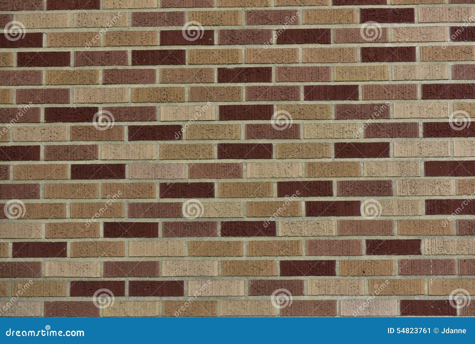 Alvenaria do tijolo de clinquer