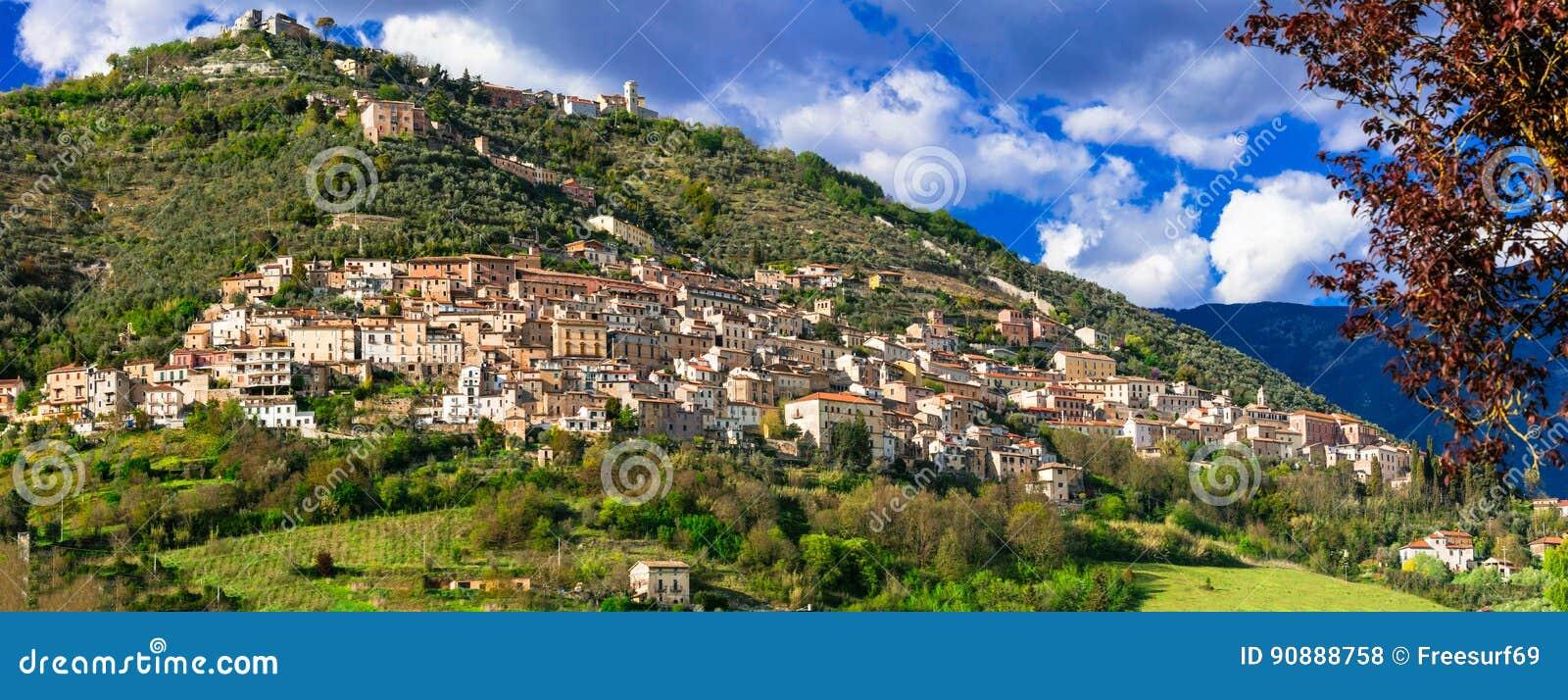 Alvito - beau village médiéval dans la province de Frosinone, Latium