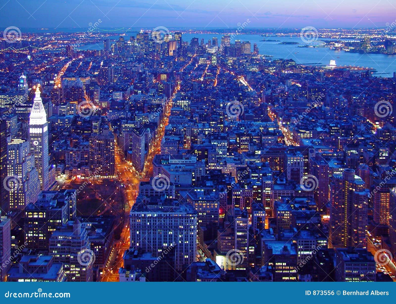 Alvorecer sul de Manhattan