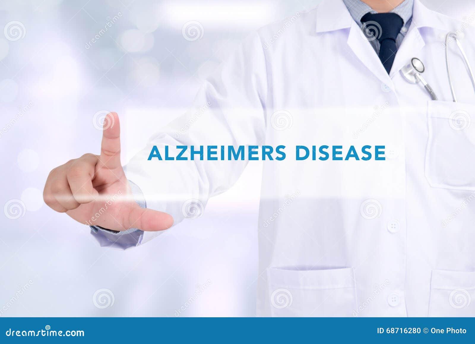 Alzheimers-Krankheitskonzept
