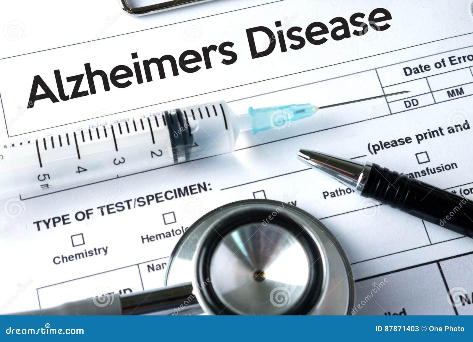 Alzheimers-Krankheitskonzept, Gehirndegenerative erkrankungen Parkin