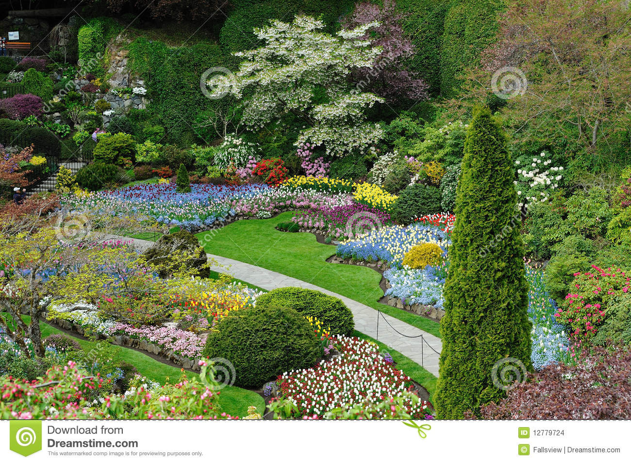 Am nagement de jardins images stock image 12779724 for Amenagement du jardin photo
