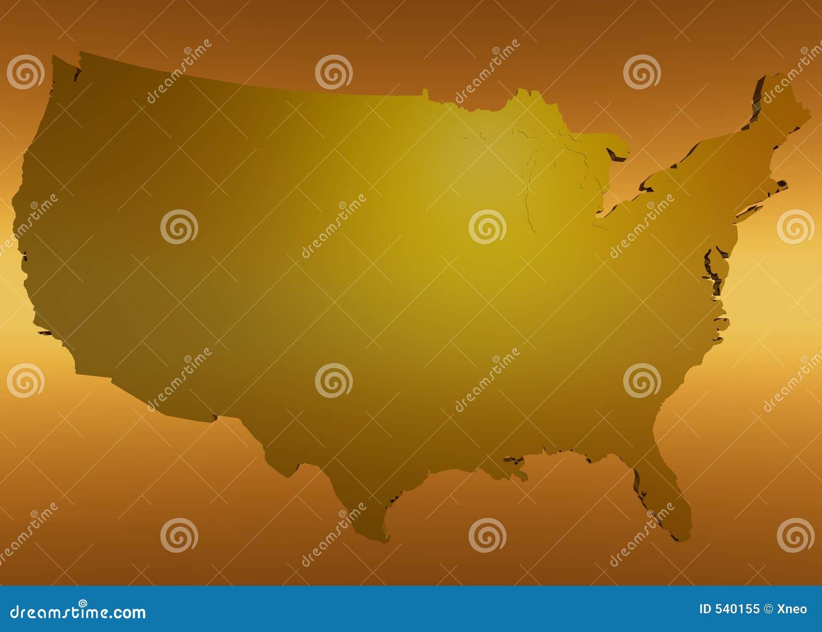América dourada