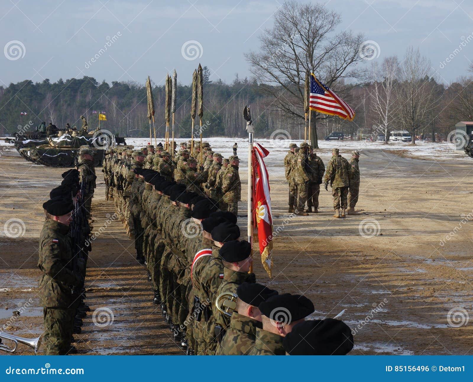 Américain Abrams en Pologne