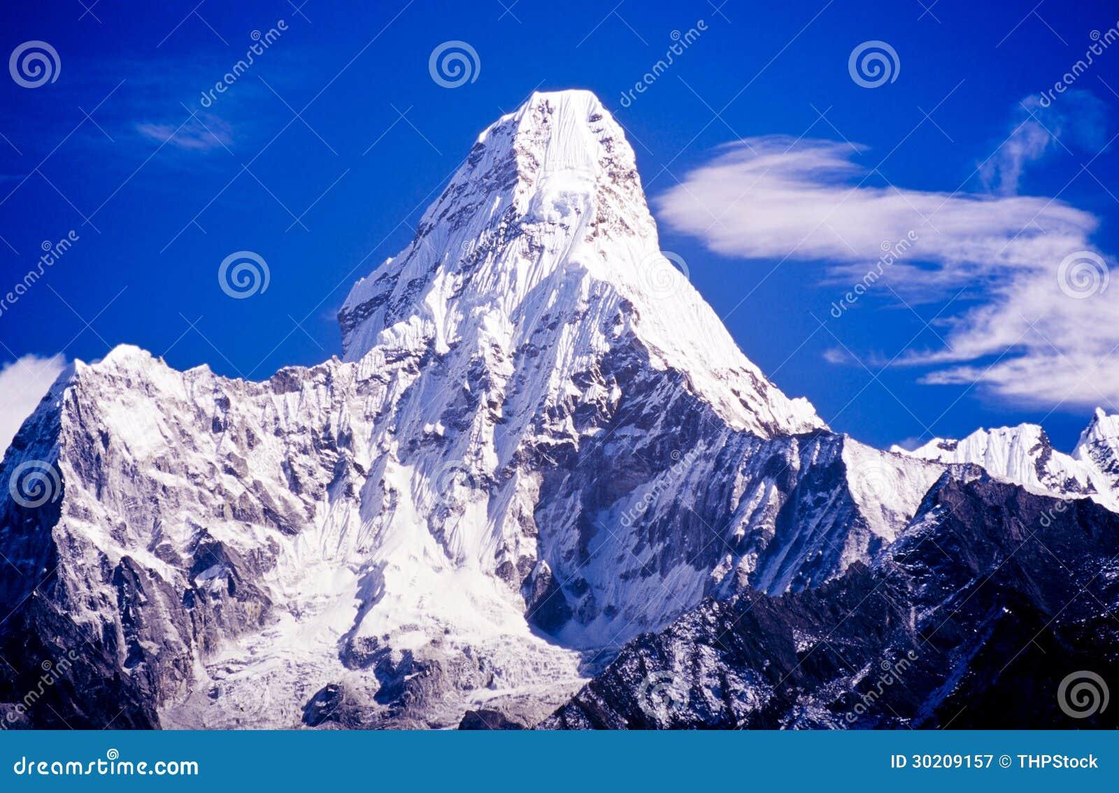 Ama Dablam Nepal Himalaya Royalty Free Stock Photography Image 30209157