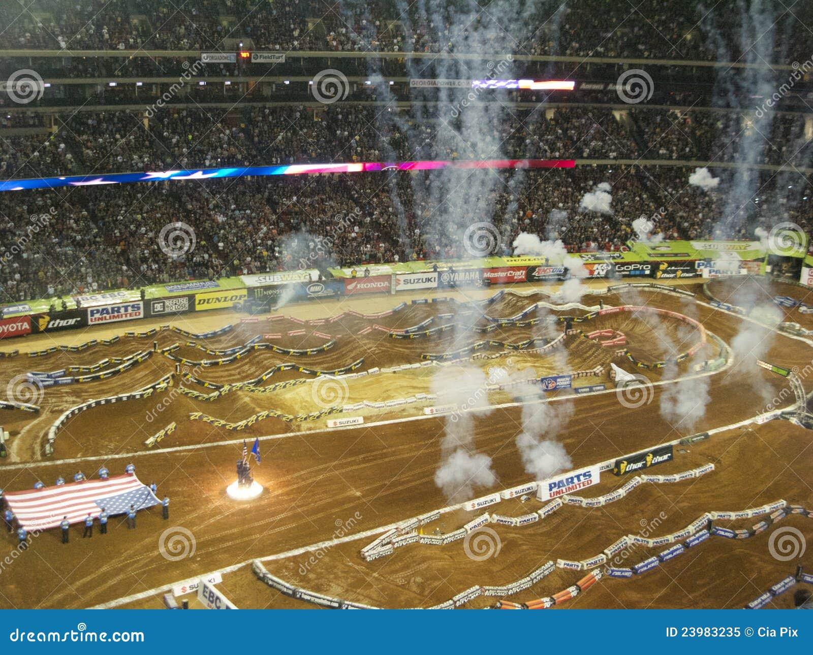 AMA Supercross in Atlanta, Georgië