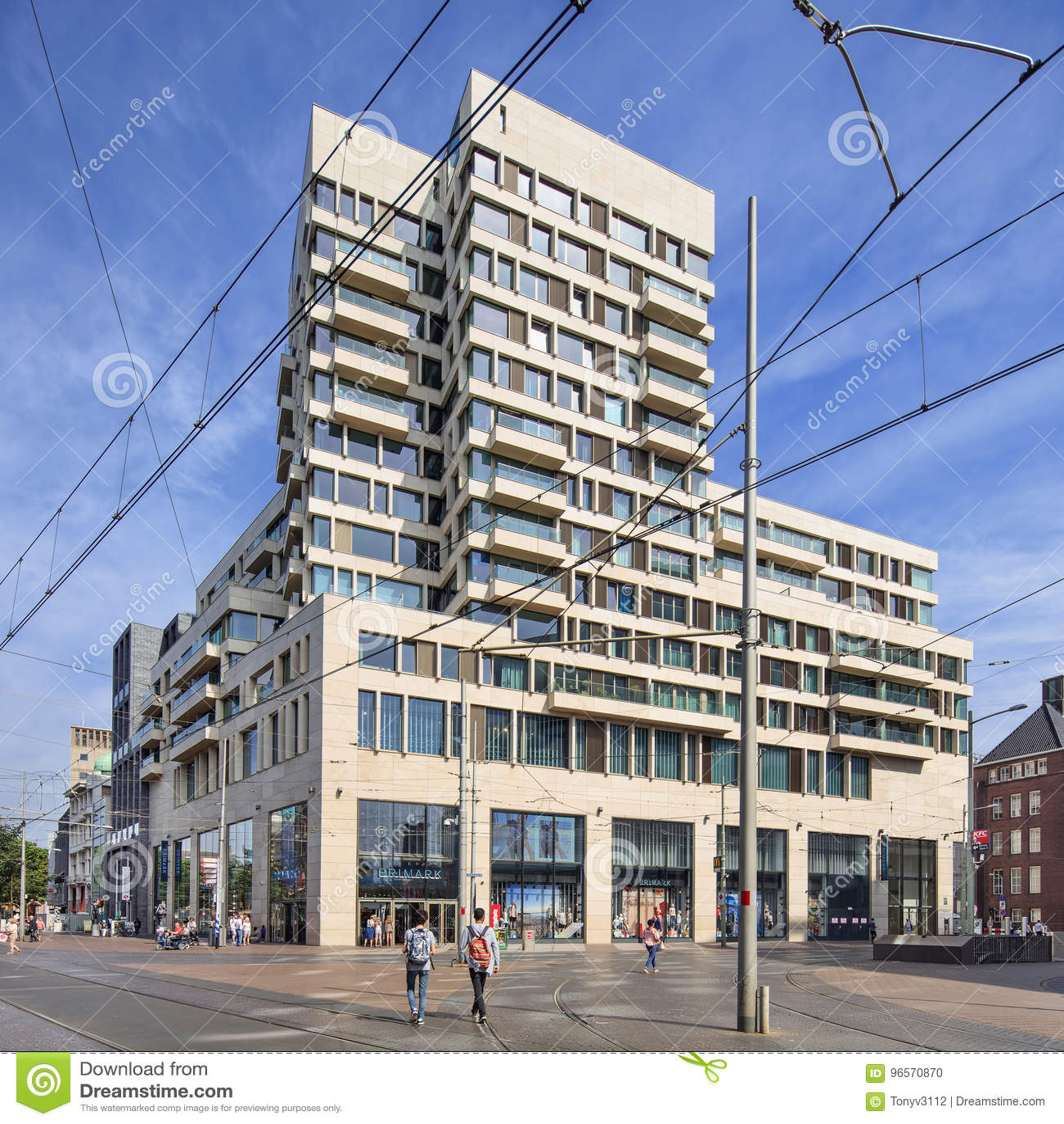 Amadeus building 2014 designed by Bedaux de Brouwer architects, The Hague, Netherlands