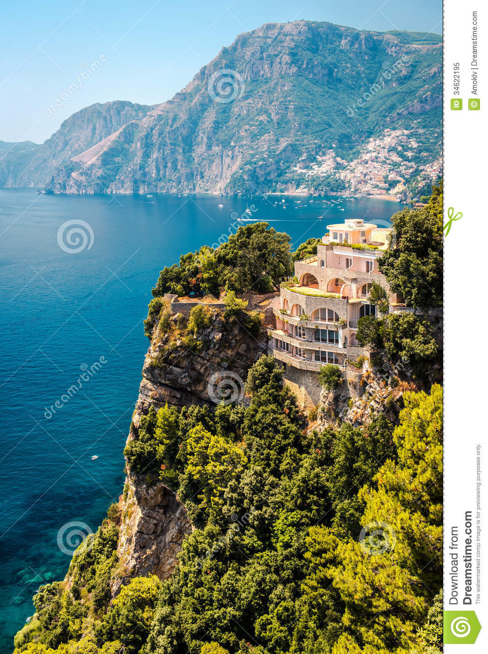 amalfi coast. italy royalty free stock photo - image: 34622195