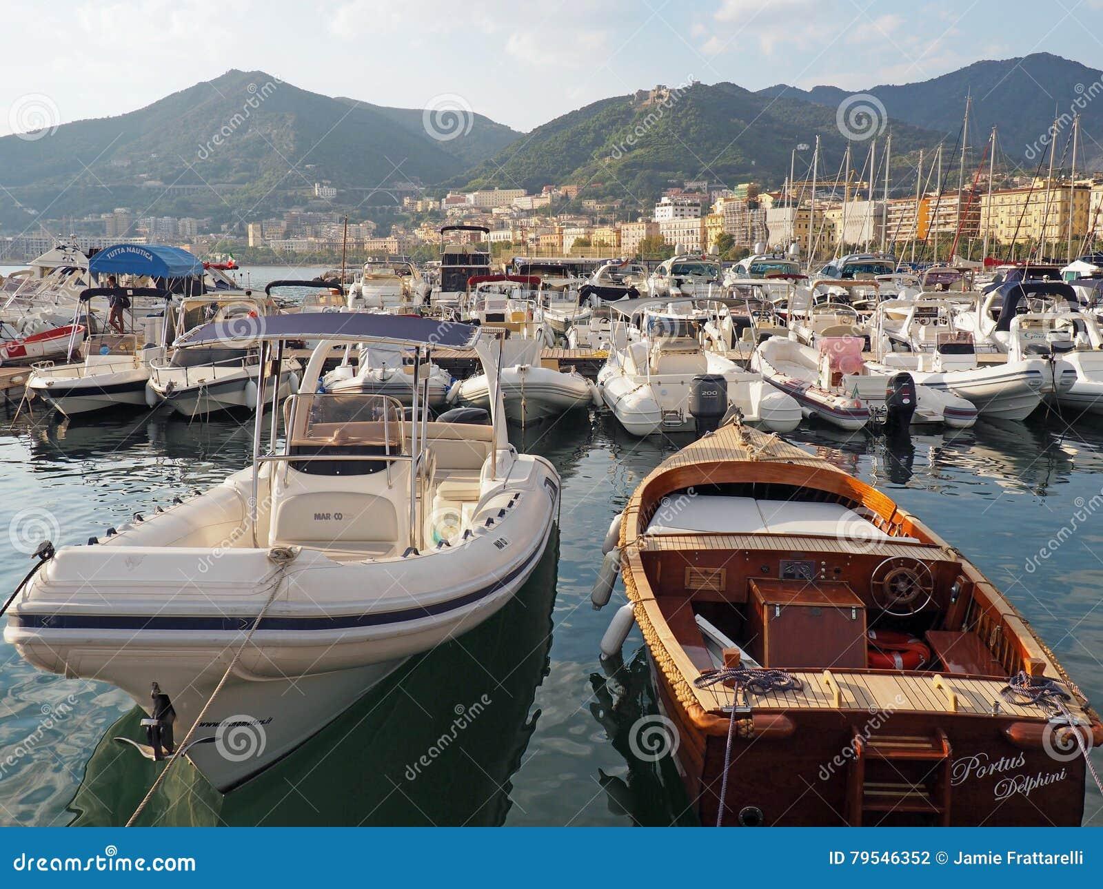 The Amalfi Coast editorial photography  Image of harbor