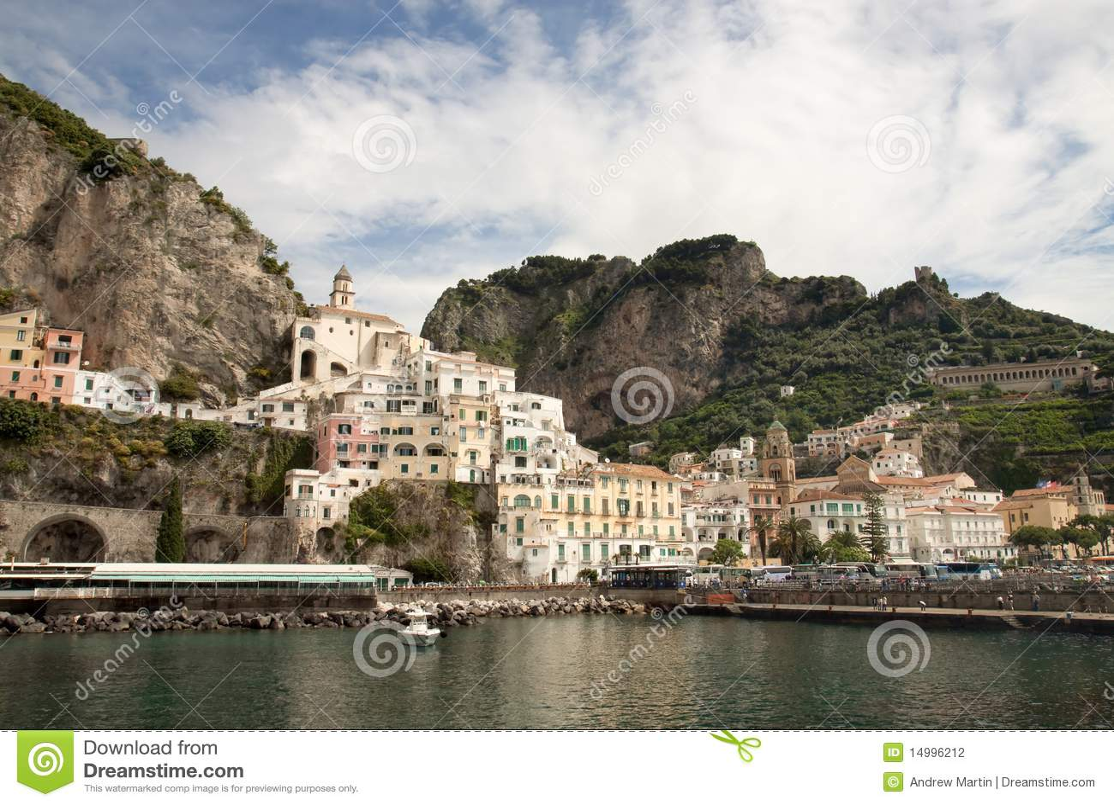 Amalfi fjärd italy