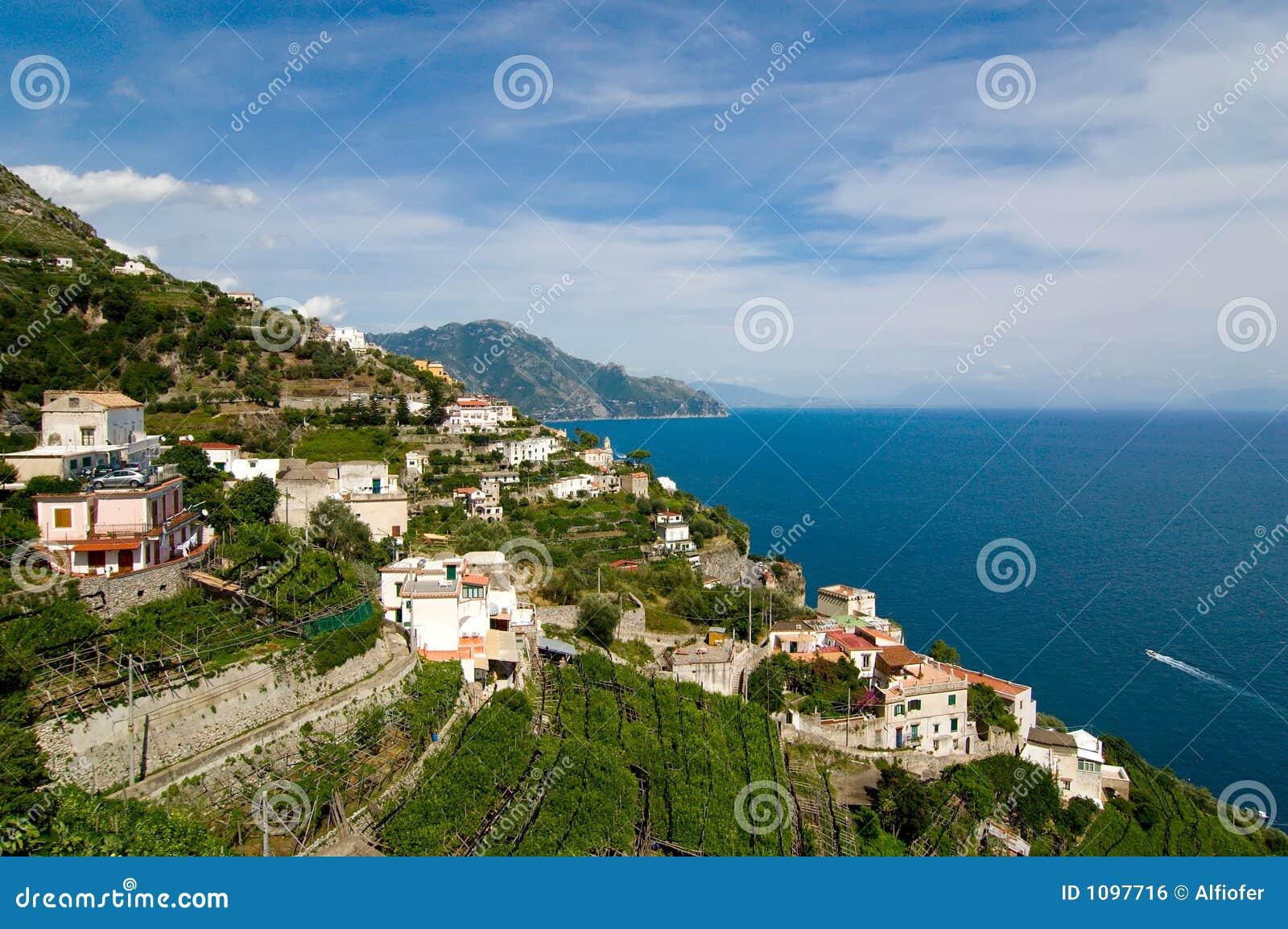 Amalfi, zuidelijk Italië, kust