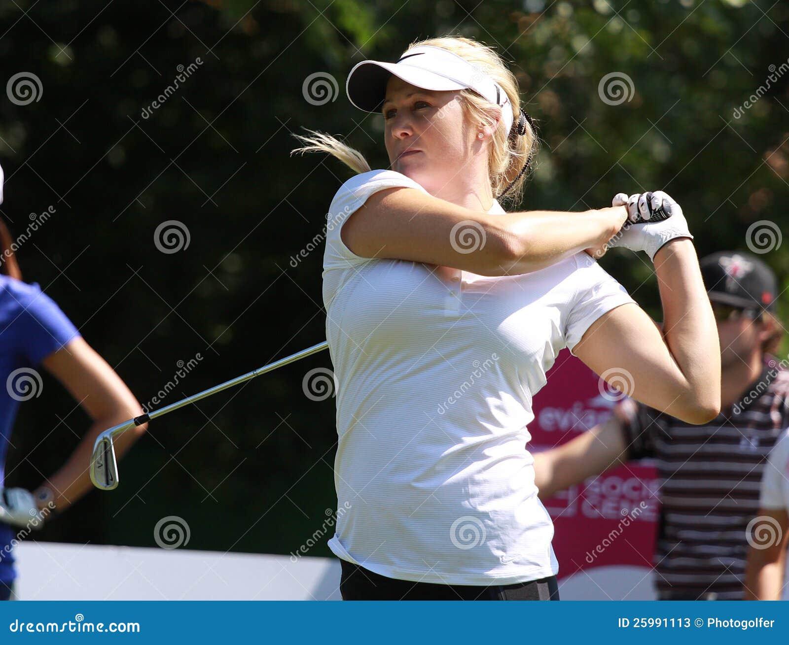 Amanda blumenherst på golf Evian styrer 2012