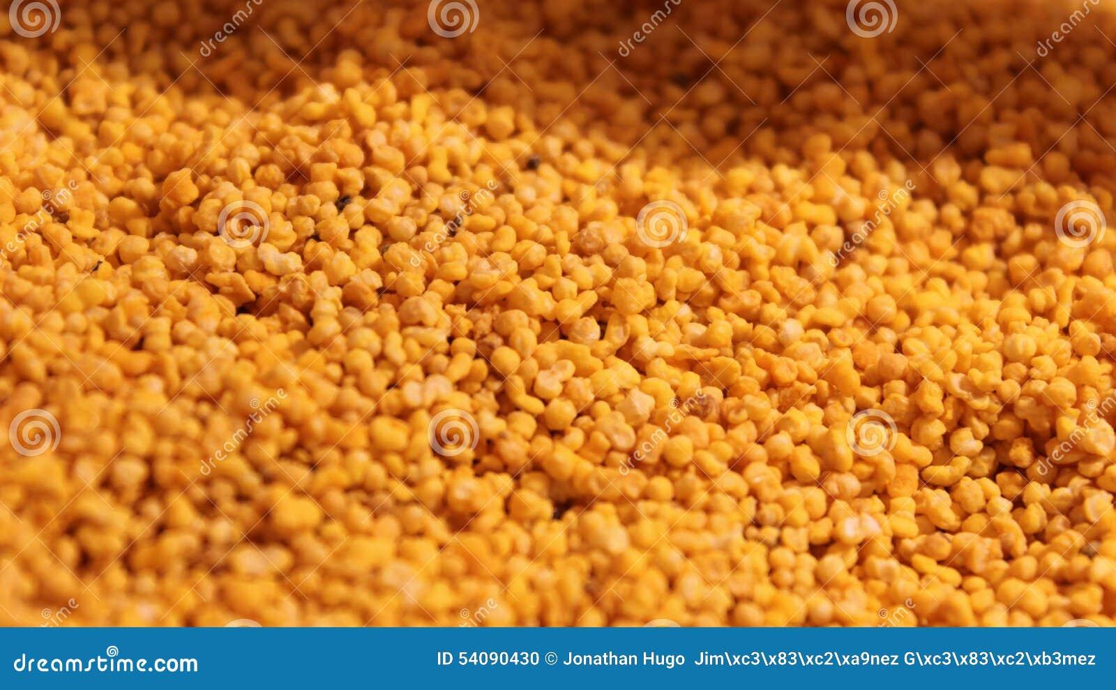 Amarant met honing wordt behandeld die