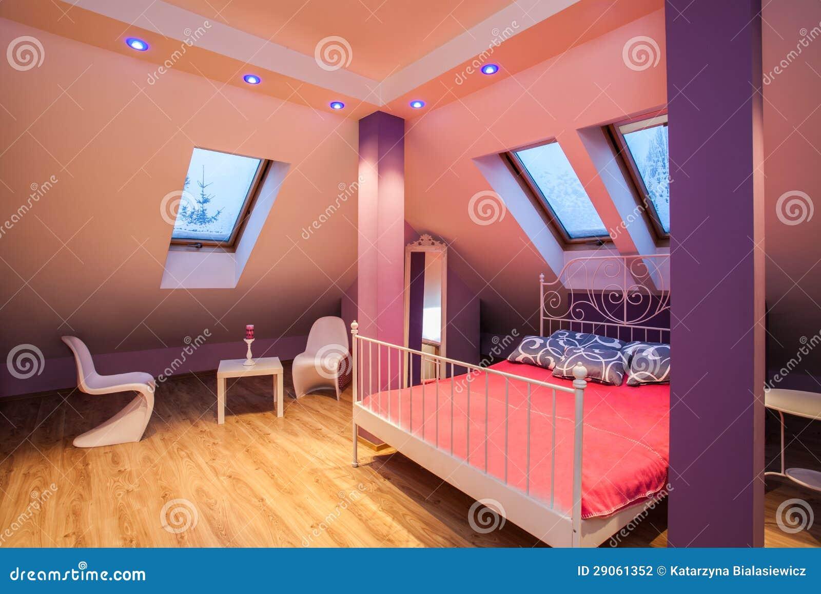 Amaranth House - Sweet Bedroom Stock Photography - Image: 29061352