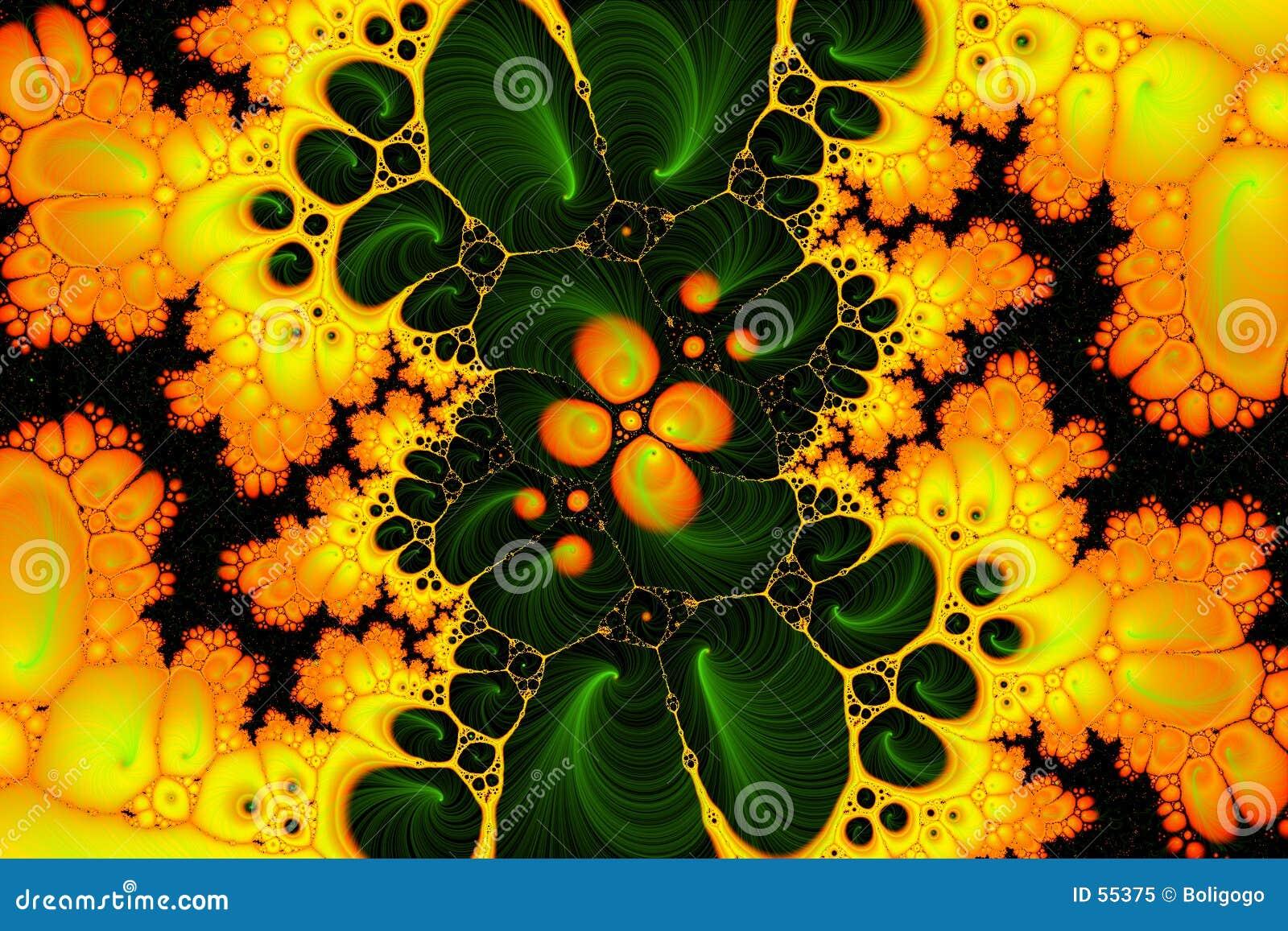 Amarelo do teste ácido