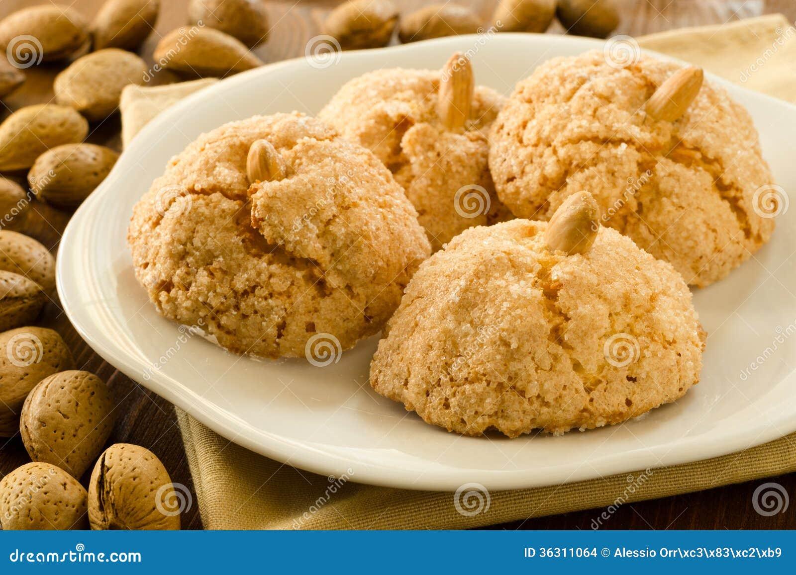 Amaretti sarde images stock image 36311064 - Cuisine italienne dessert ...