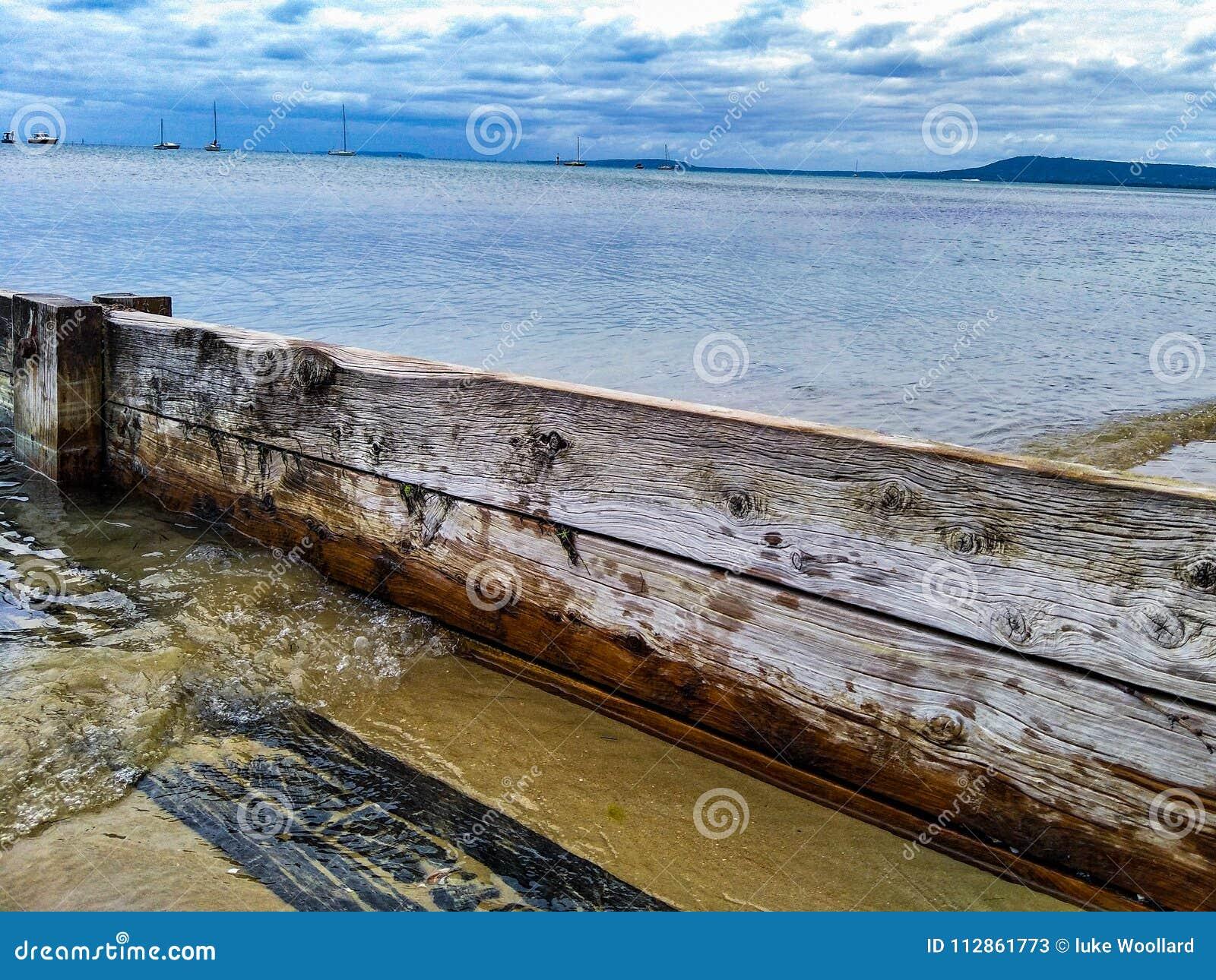 Amarração do molhe na península do mornington