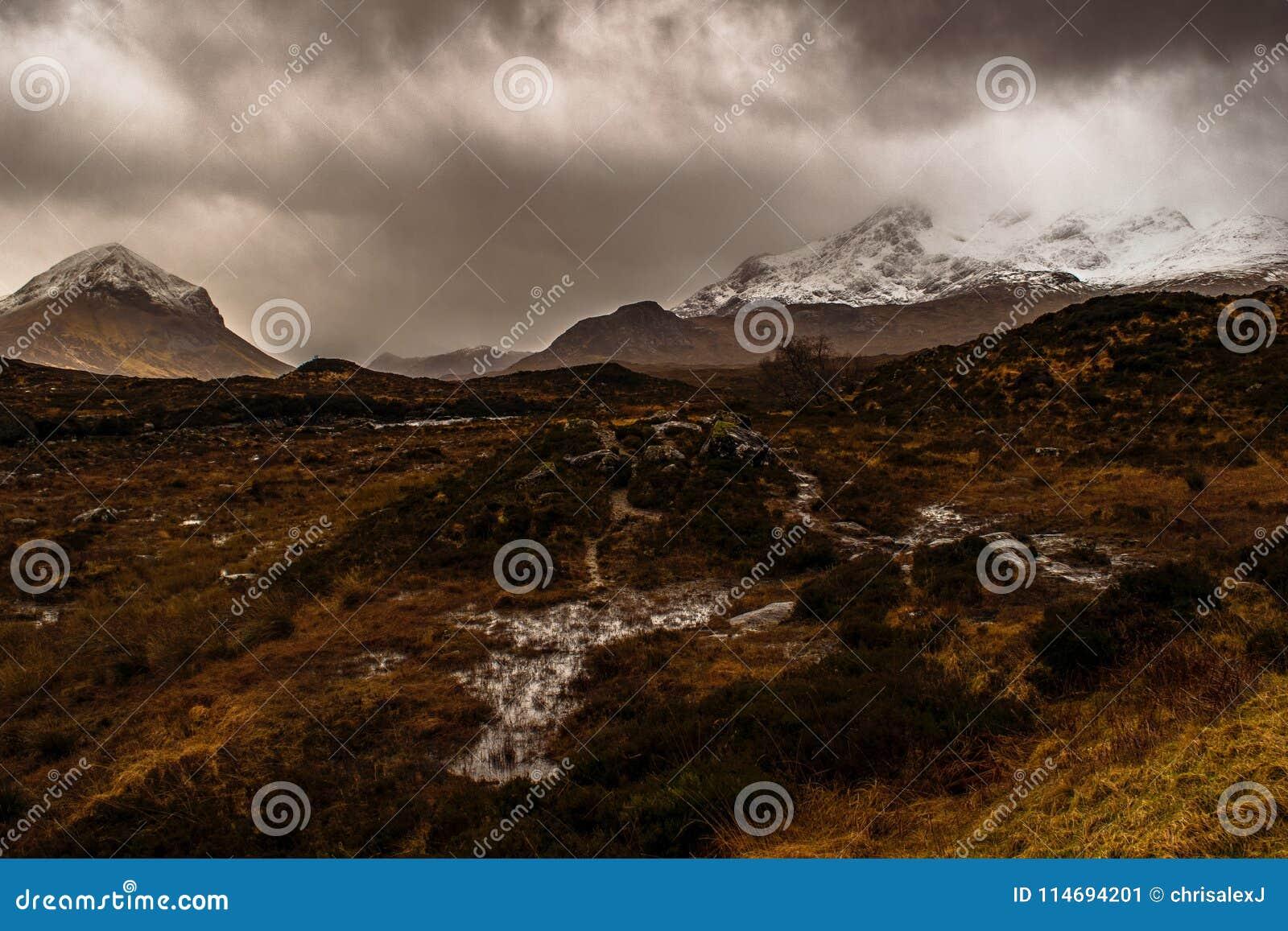 Amarre en la isla de Skye