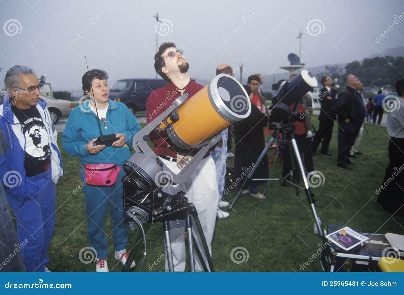 Amateur astronomers
