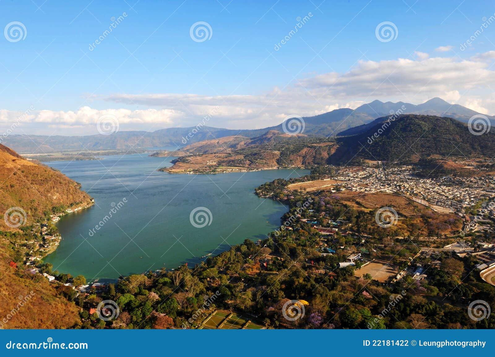 Amatitlan λίμνη