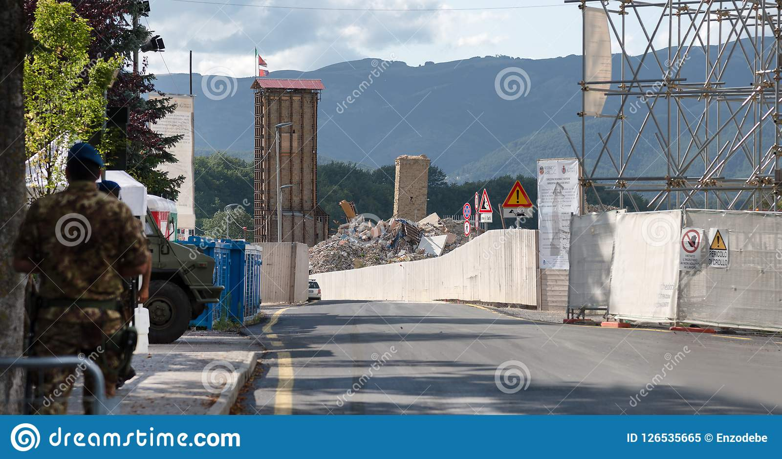 Amatrice - Италия, с зоны limitz