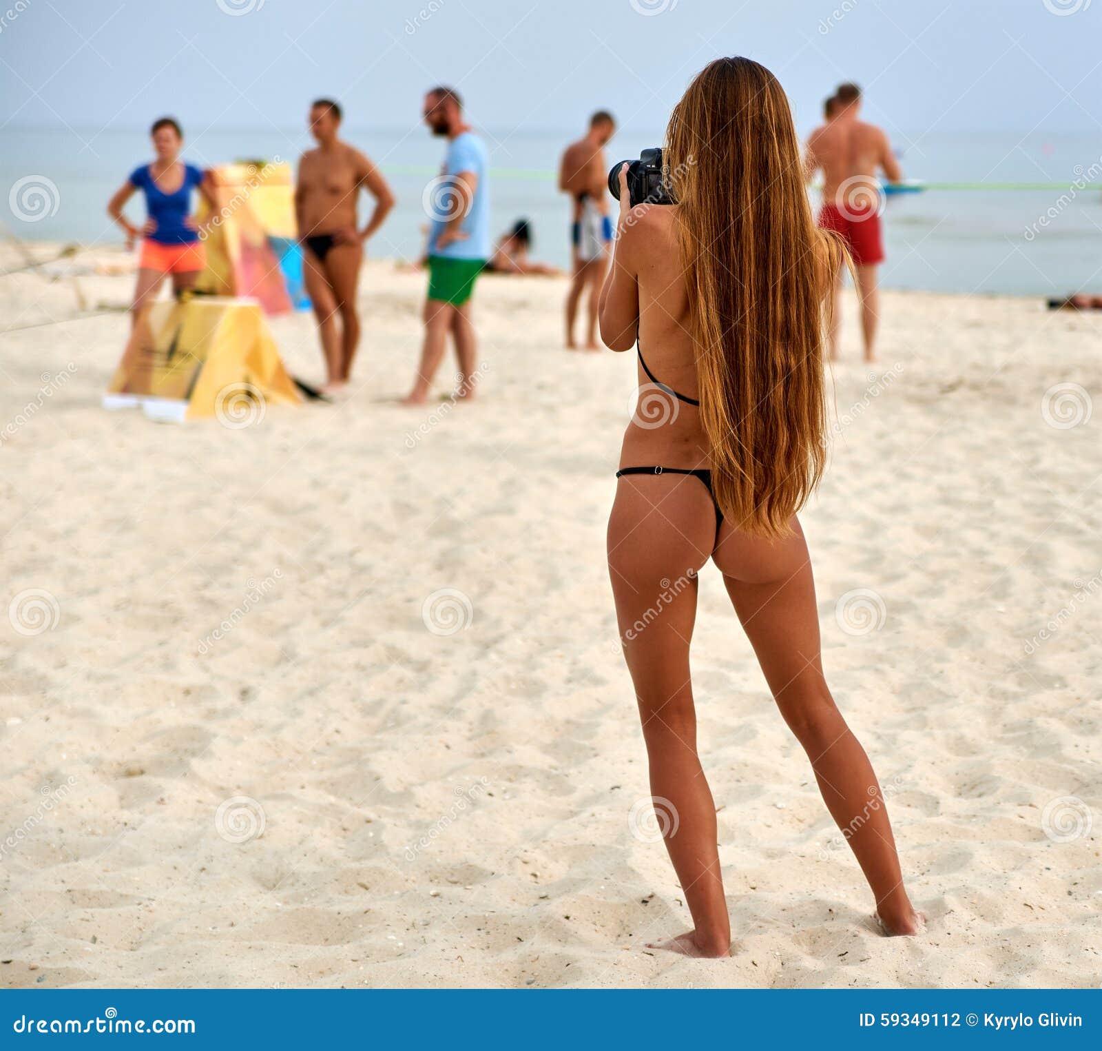 Amizing Teen In Bikini With 26
