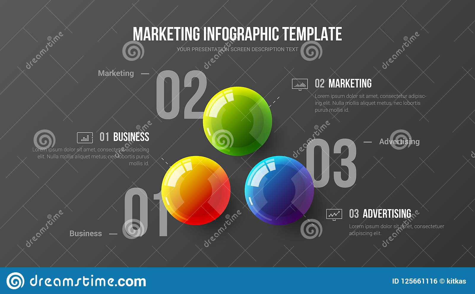 amazing business infographic presentation vector illustration