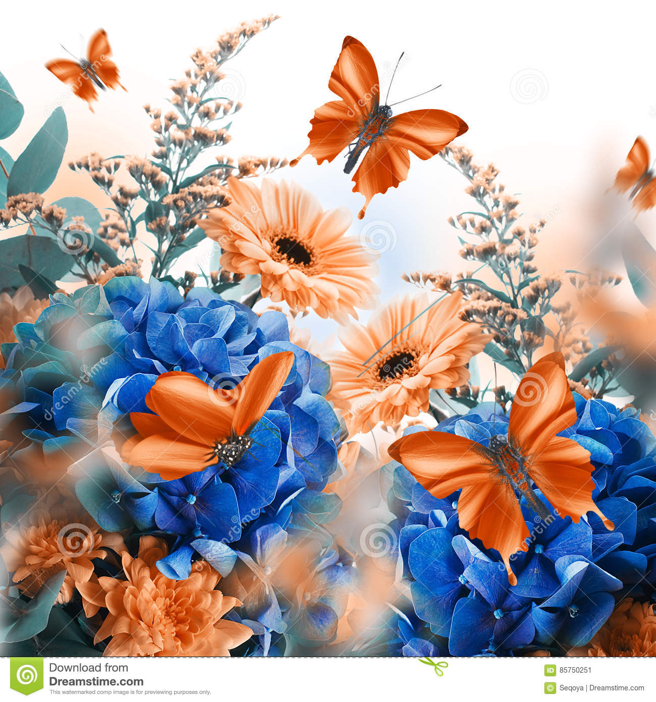 fairies and butterflies background