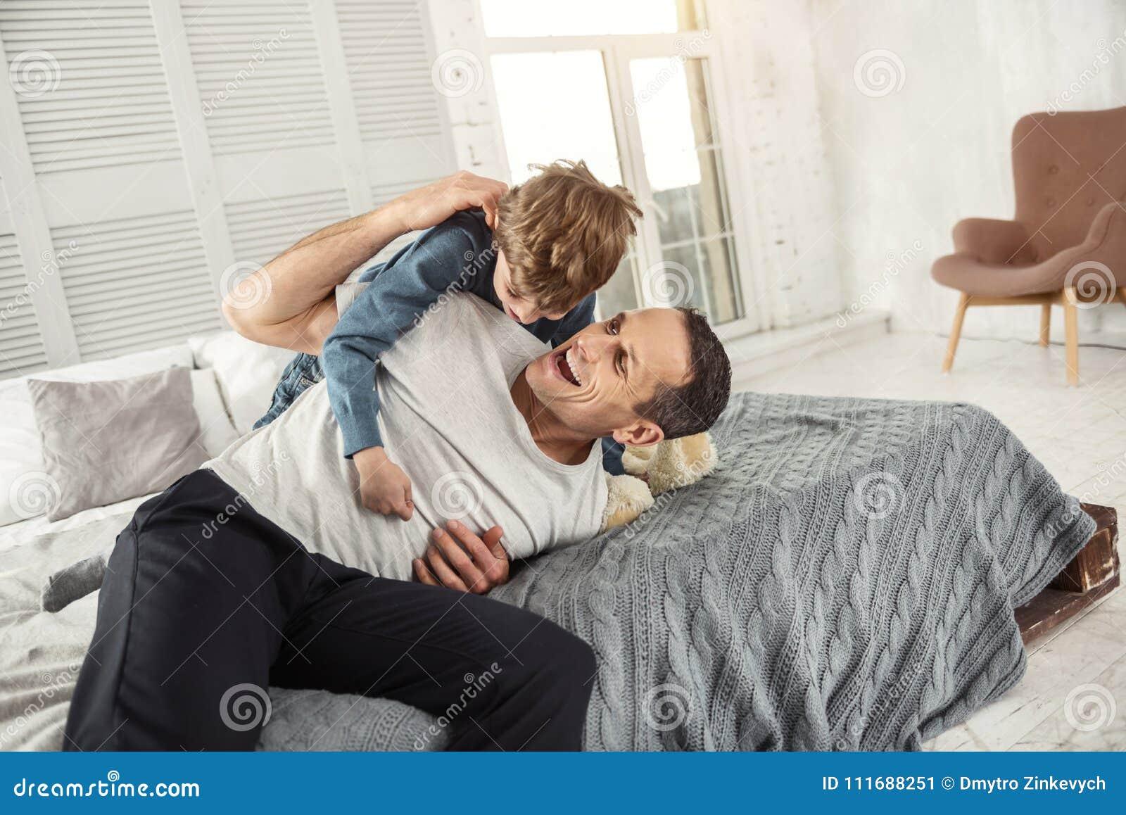 Daddies having enjoyment