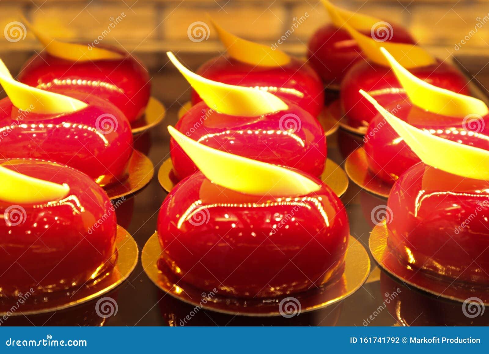 Incredible Amazing French Mini Cakes In Greek Bakery Stock Photo Image Of Birthday Cards Printable Benkemecafe Filternl